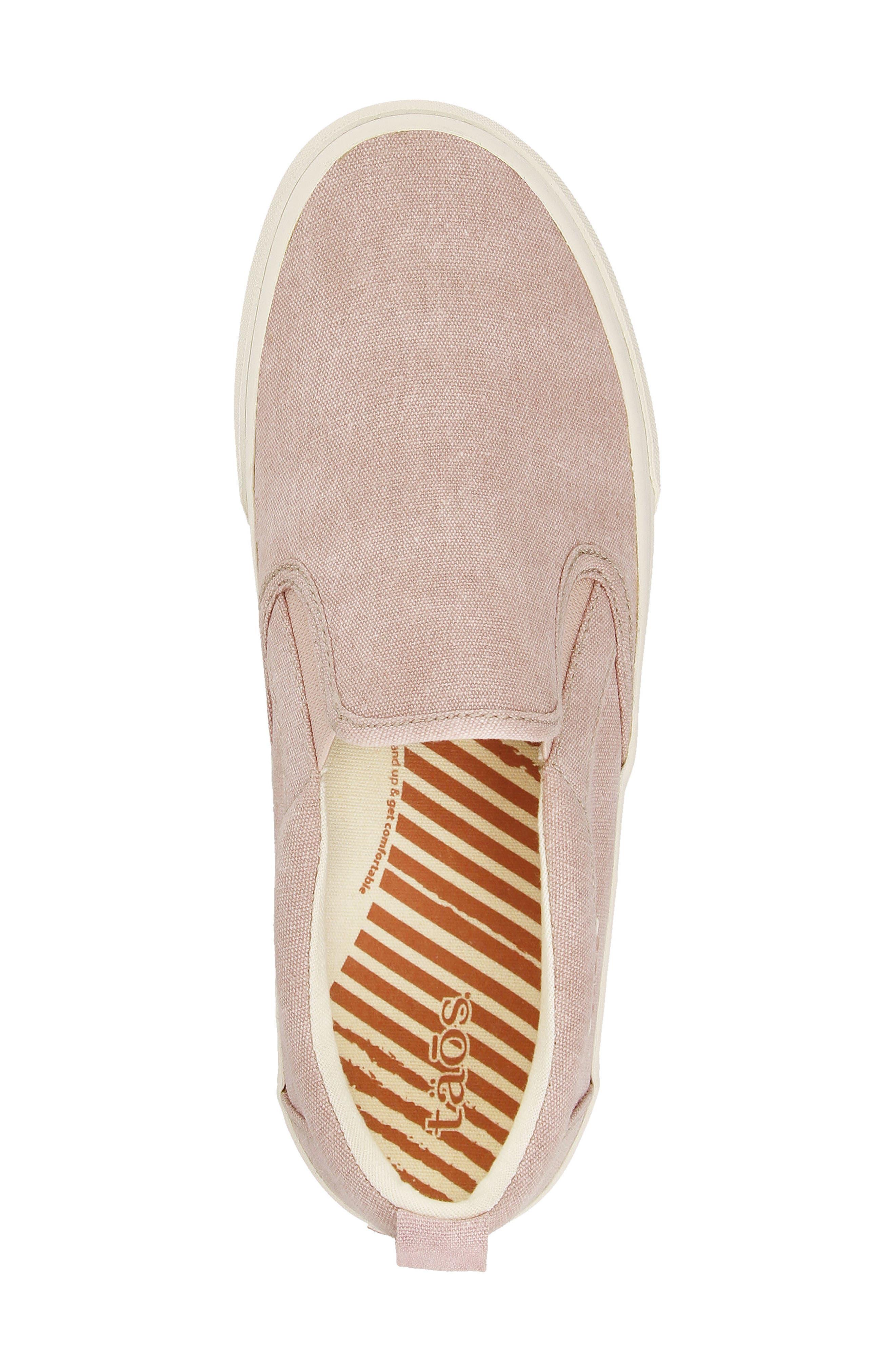 Soul Slip-On Sneaker,                             Alternate thumbnail 4, color,                             Pink Wash Canvas