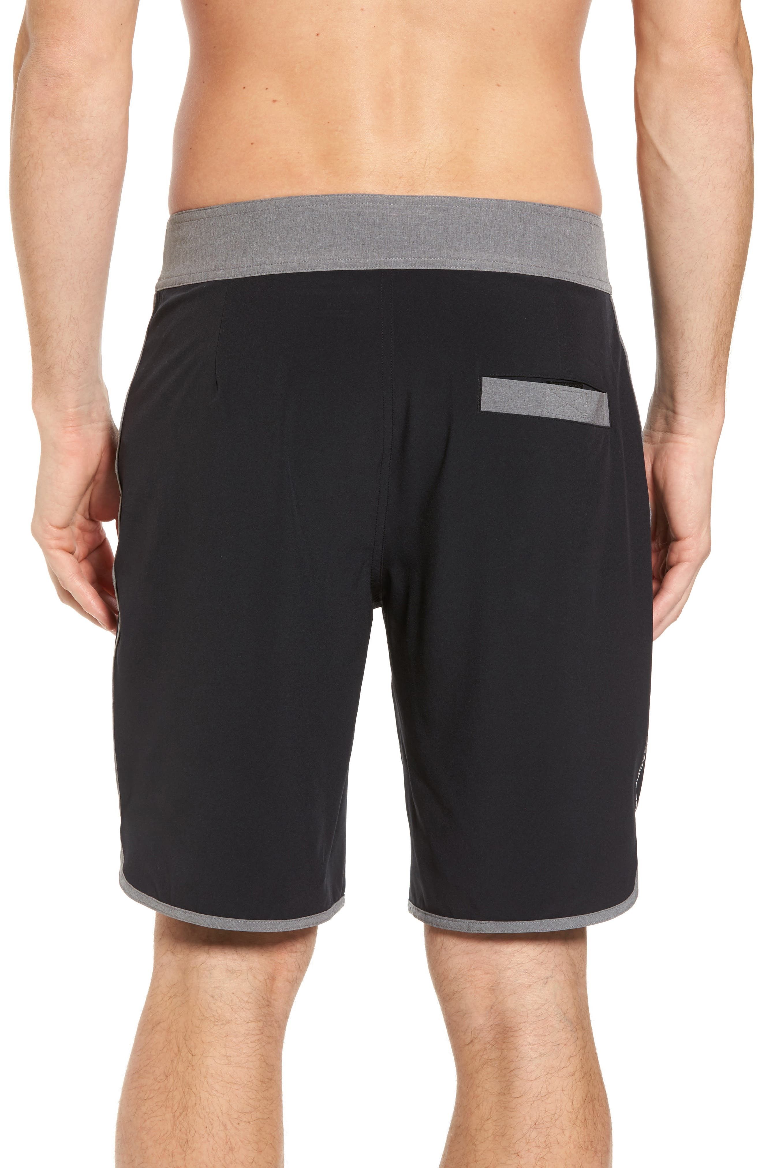 Flex Hybrid Athletic Shorts,                             Alternate thumbnail 2, color,                             Black