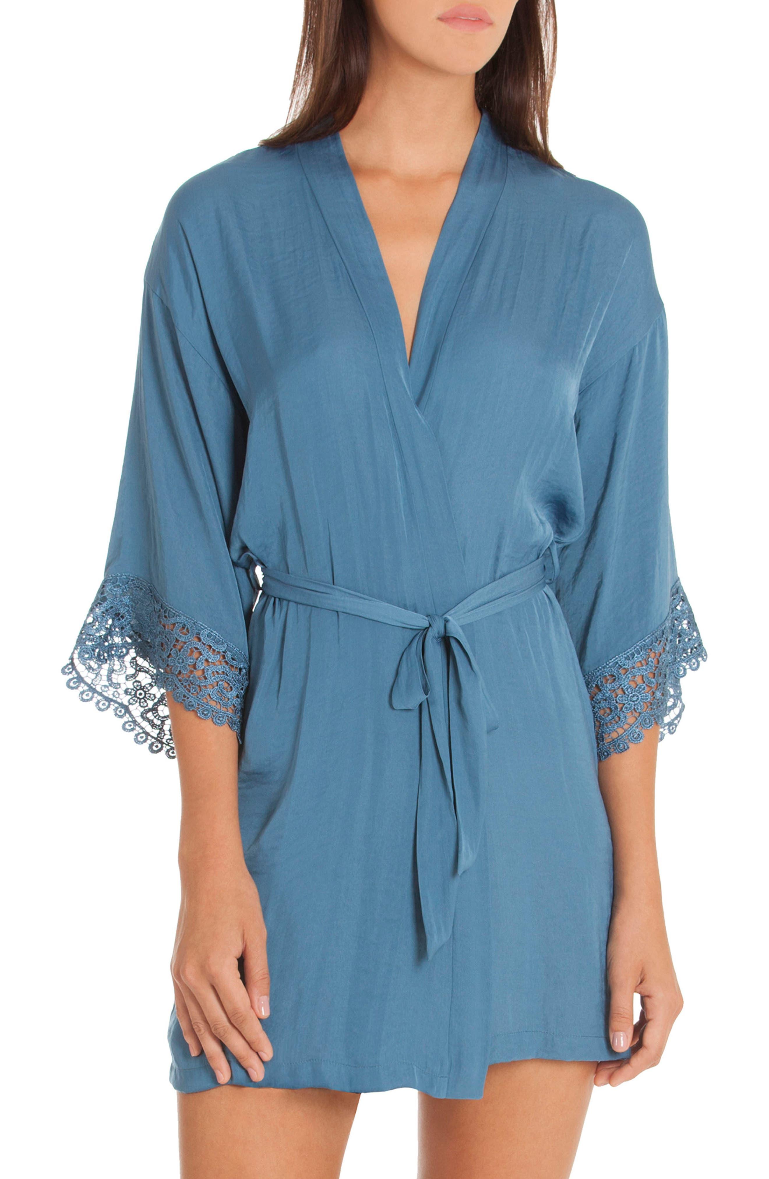 Byzantine Washed Satin Wrap,                         Main,                         color, Blue Haze