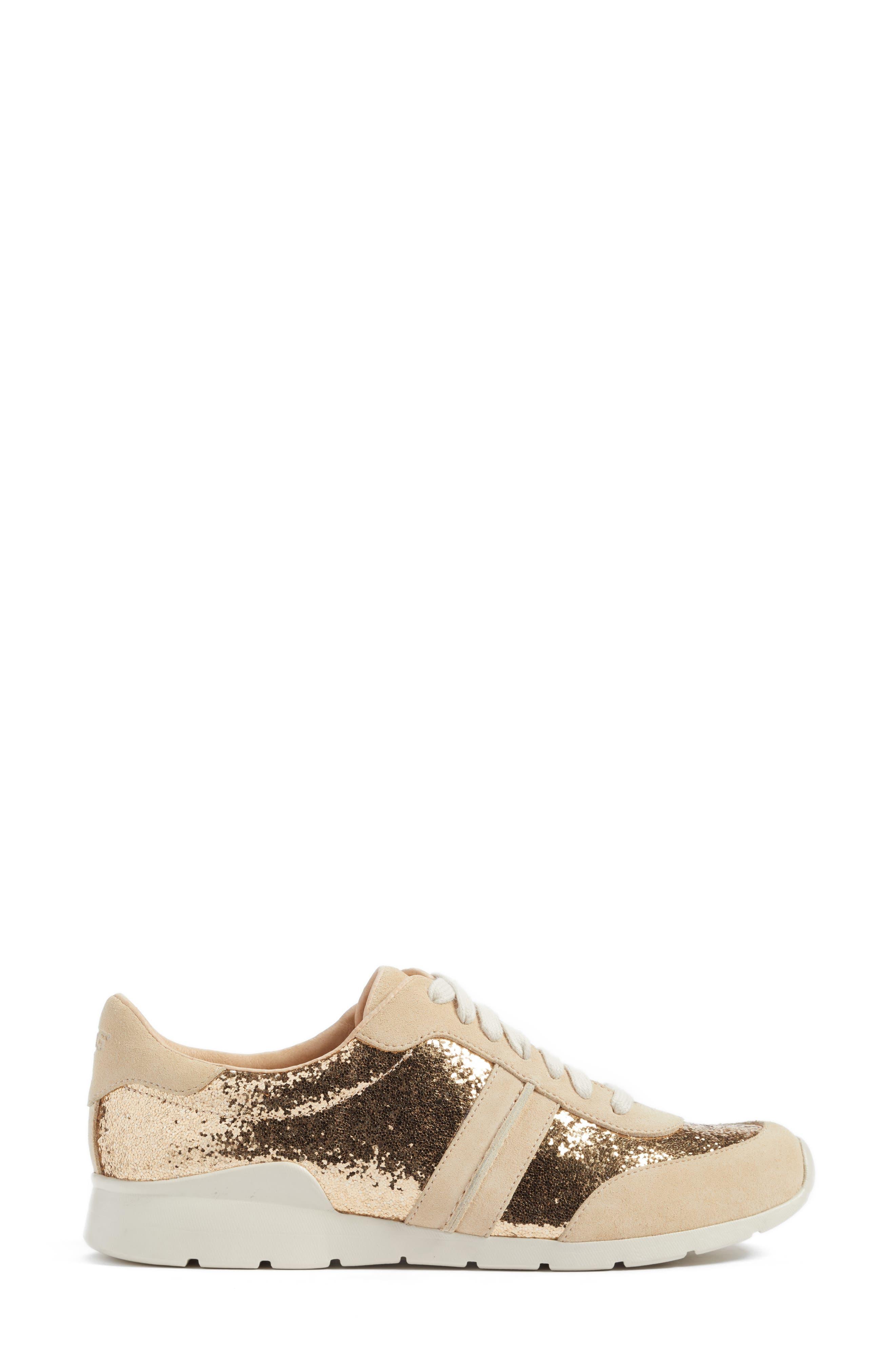 Alternate Image 3  - UGG® Jaida Glitter Sneaker (Women)