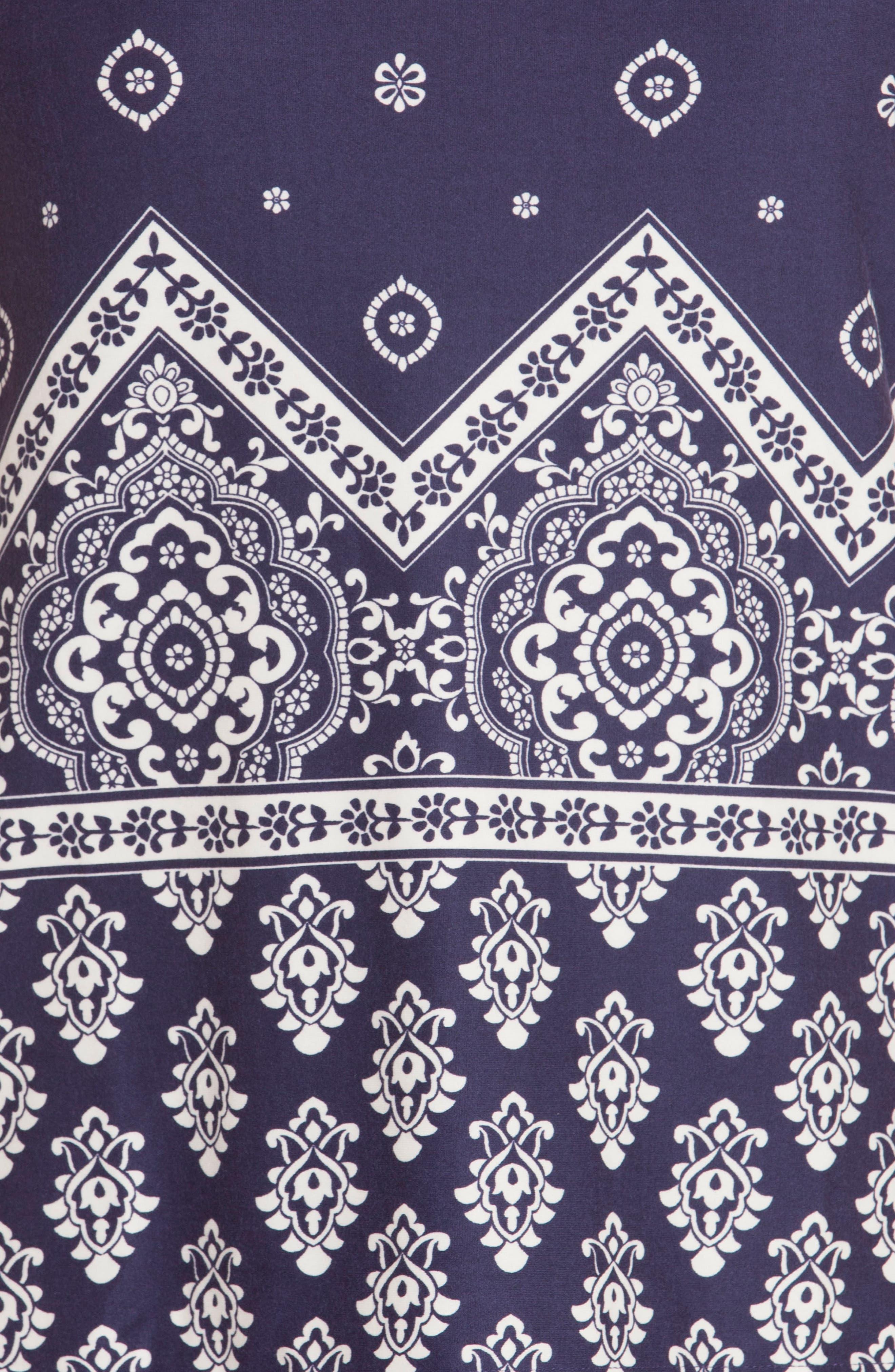 Alternate Image 4  - In Bloom by Jonquil Print Pajamas