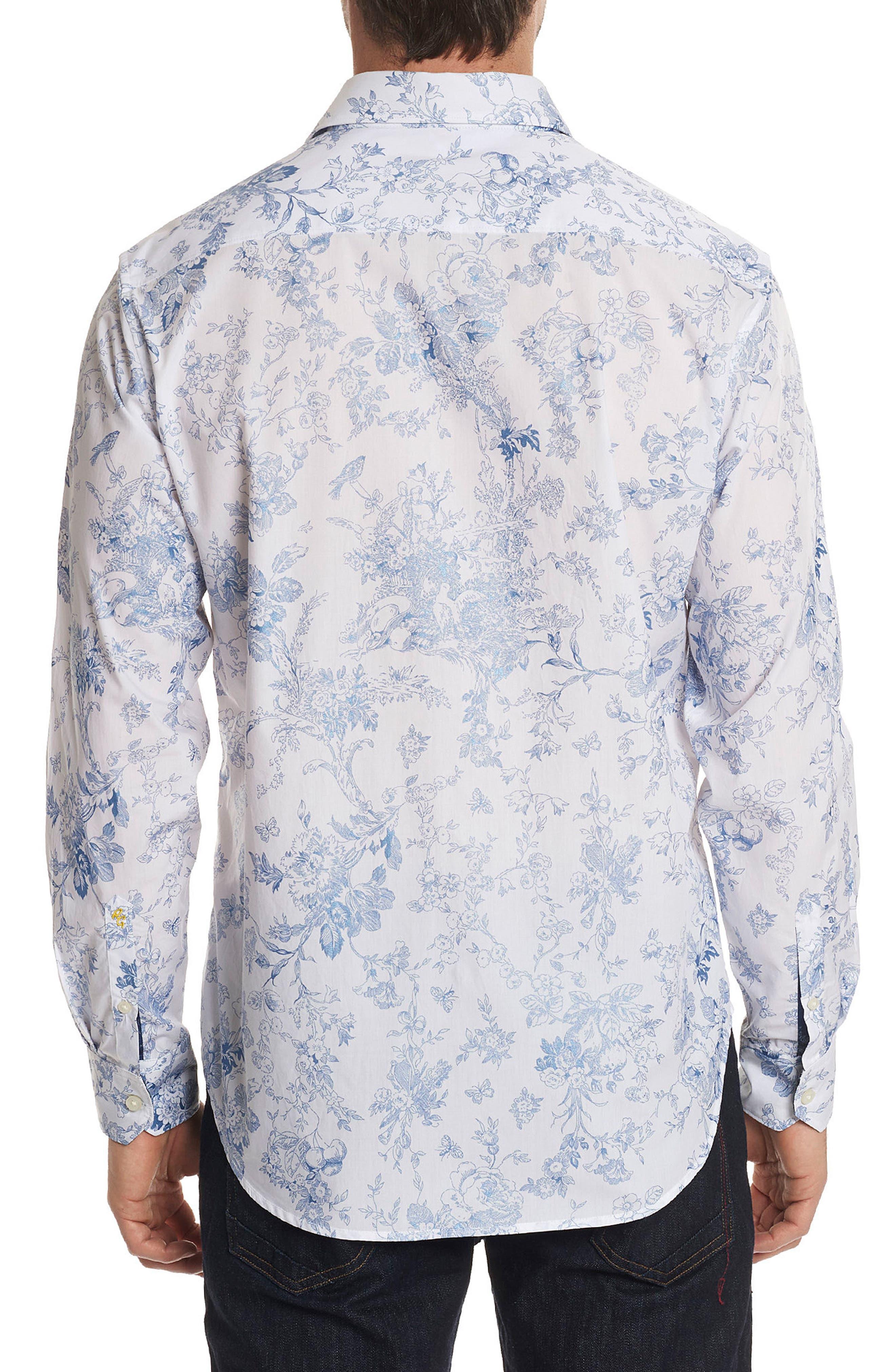 Rider Classic Fit Sport Shirt,                             Alternate thumbnail 2, color,                             White