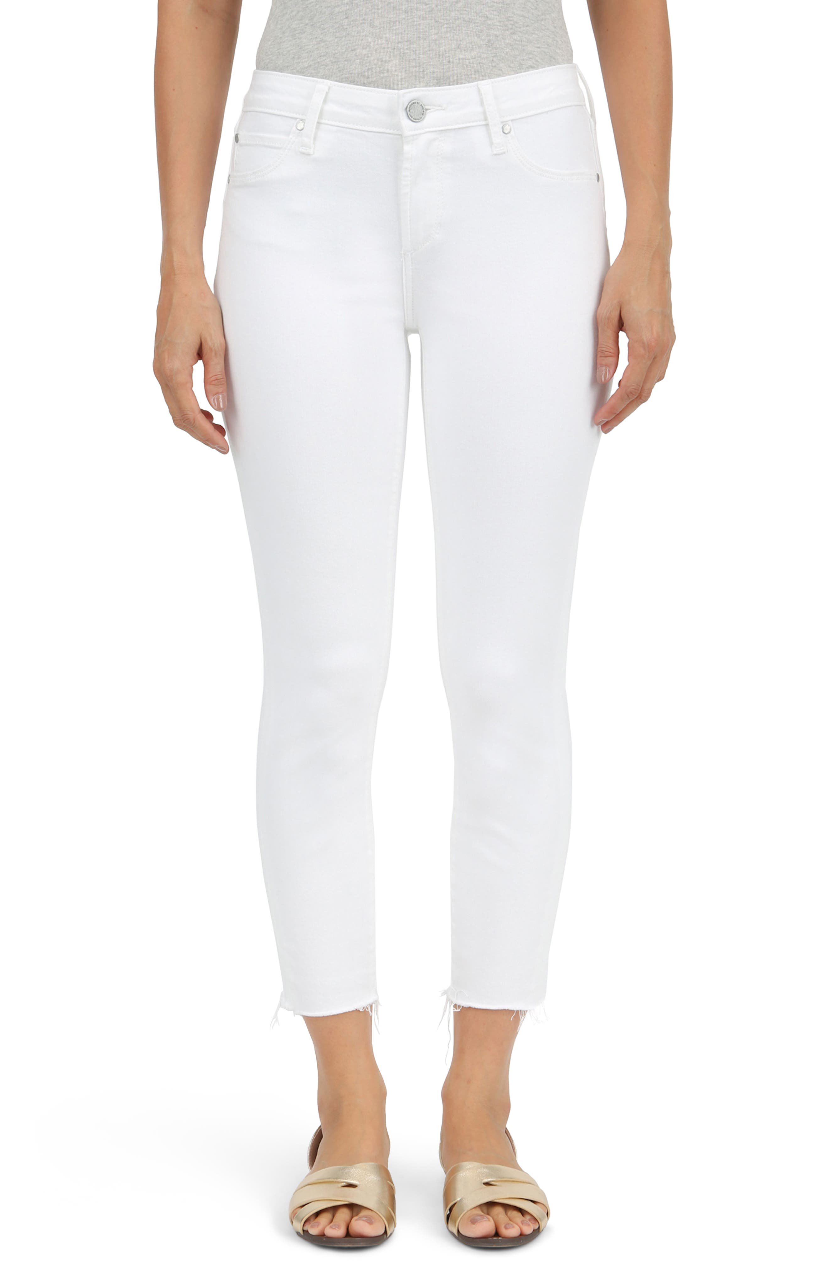 Katie Crop Skinny Jeans,                         Main,                         color, Manchester