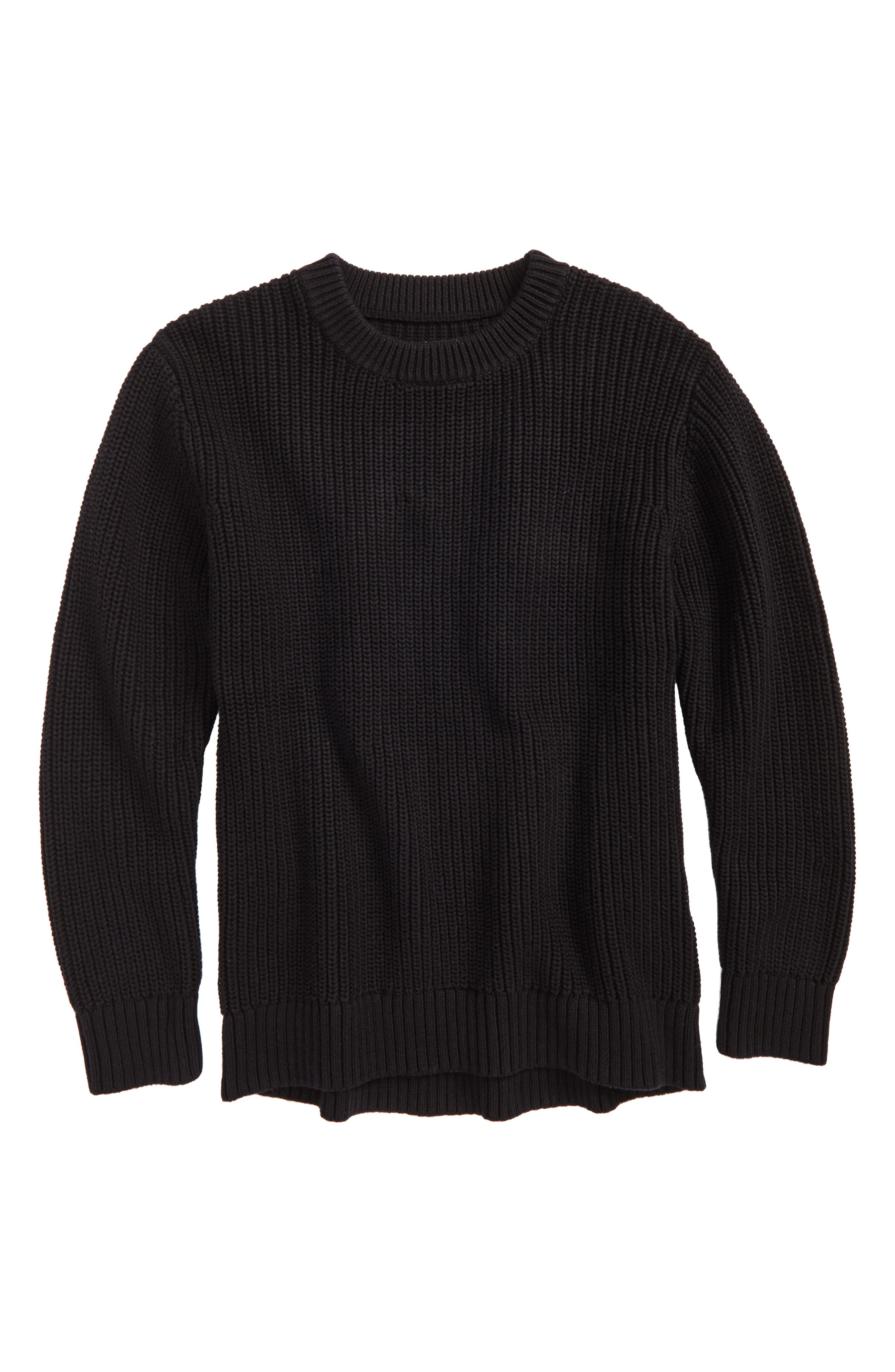 Alternate Image 1 Selected - Treasure & Bond Heavy Stitch Sweater (Big Boys)