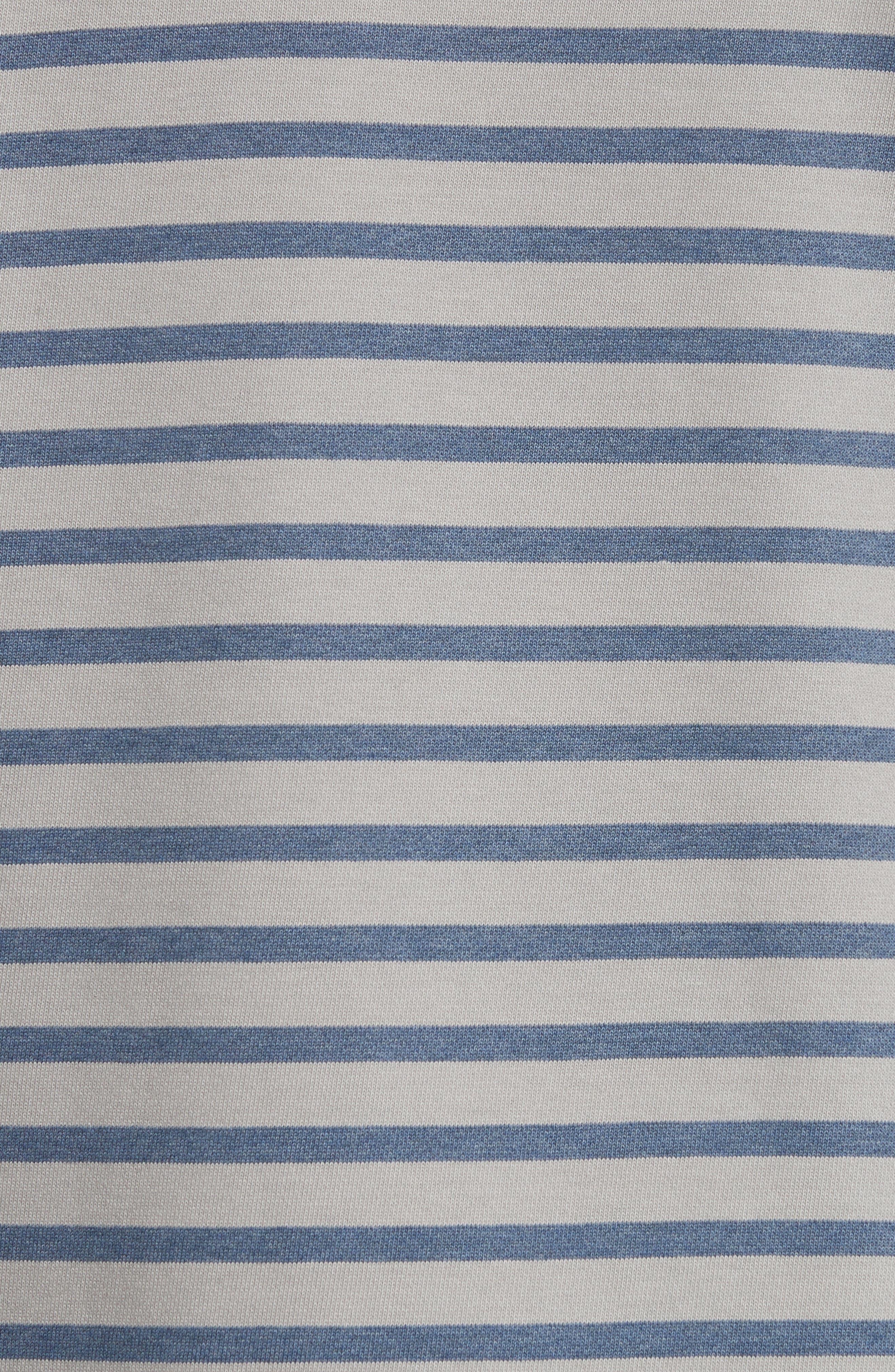 Alternate Image 5  - A.P.C. Albert Stripe Crewneck Sweatshirt