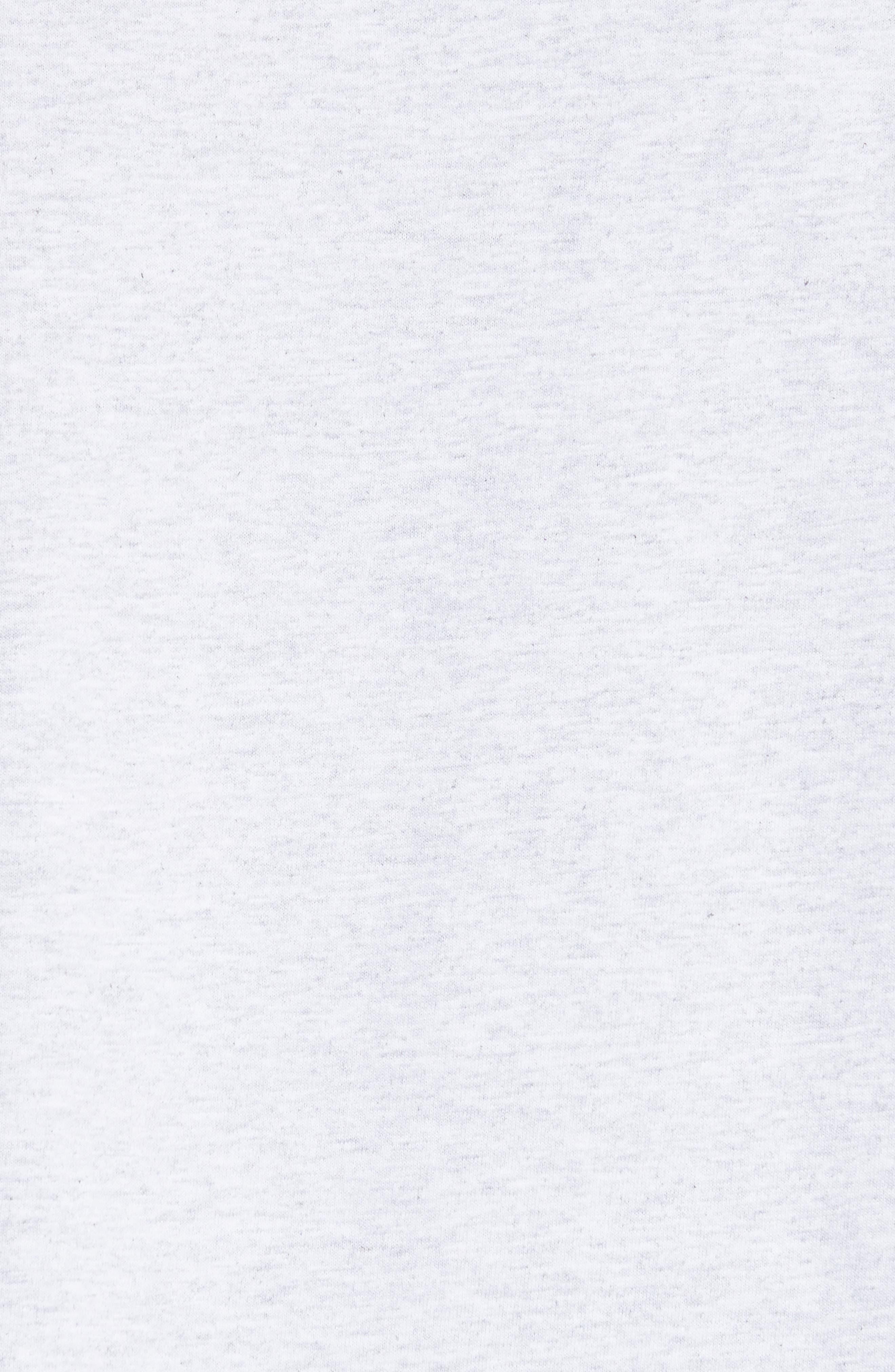 U.S Logo T-Shirt,                             Alternate thumbnail 5, color,                             Gris Chine Pla