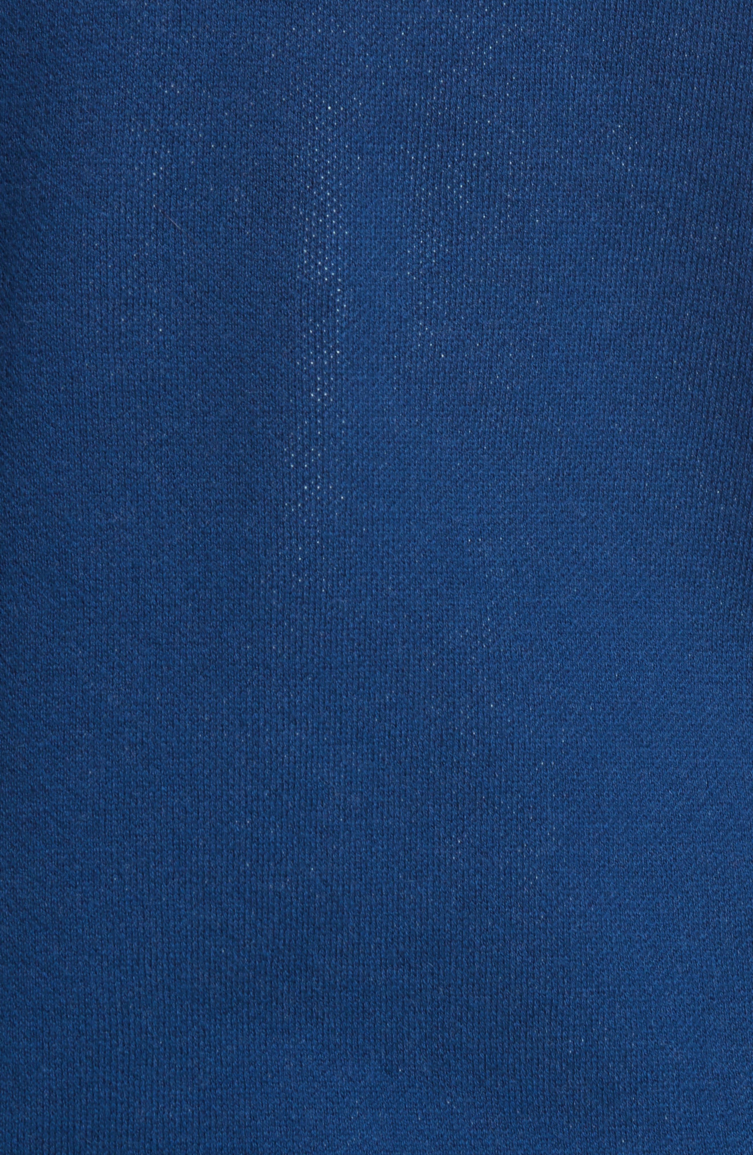 CIA Crewneck Sweater,                             Alternate thumbnail 5, color,                             Bleu Fonce Iah