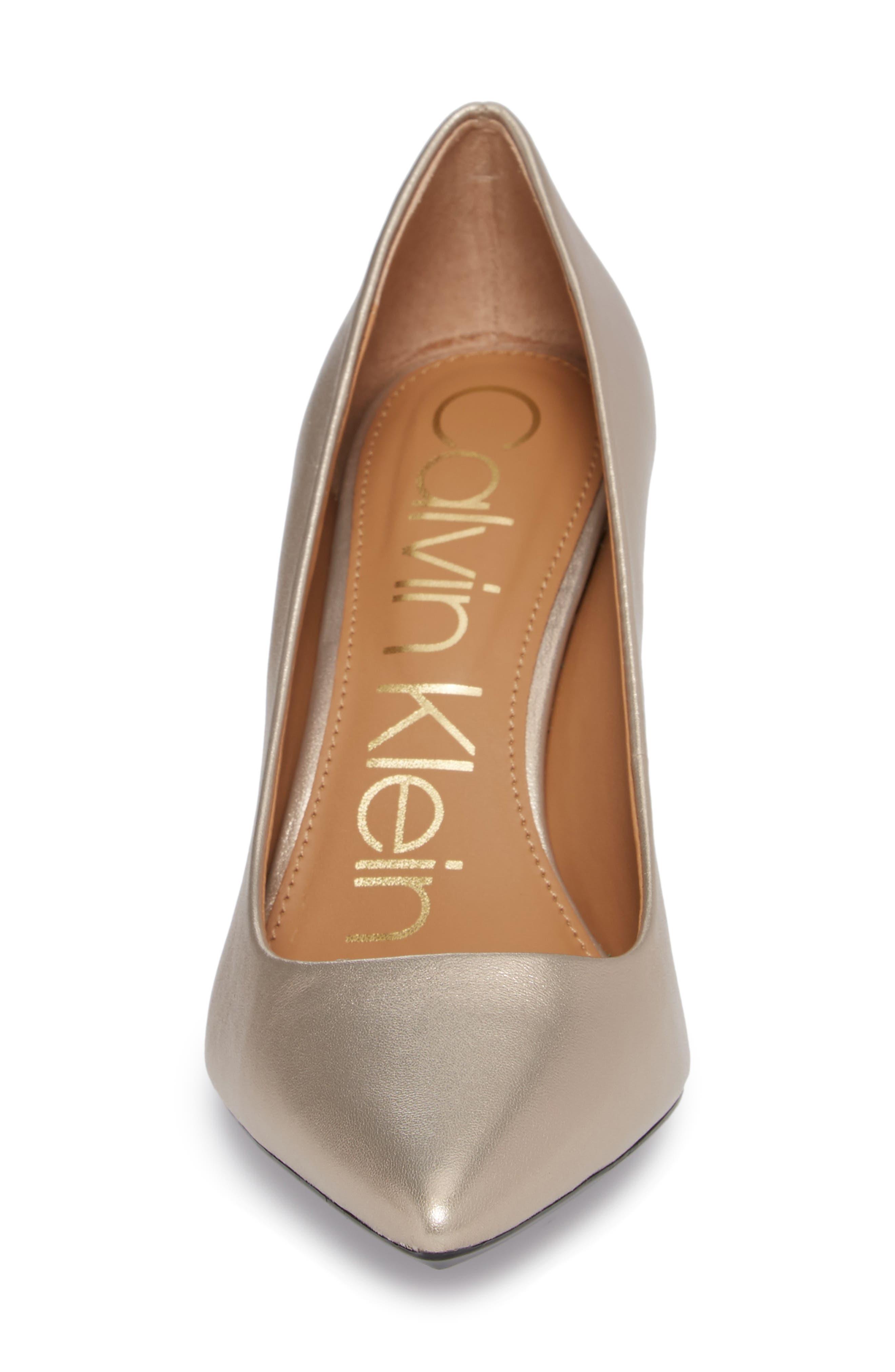 Alternate Image 4  - Calvin Klein 'Gayle' Pointy Toe Pump (Women)