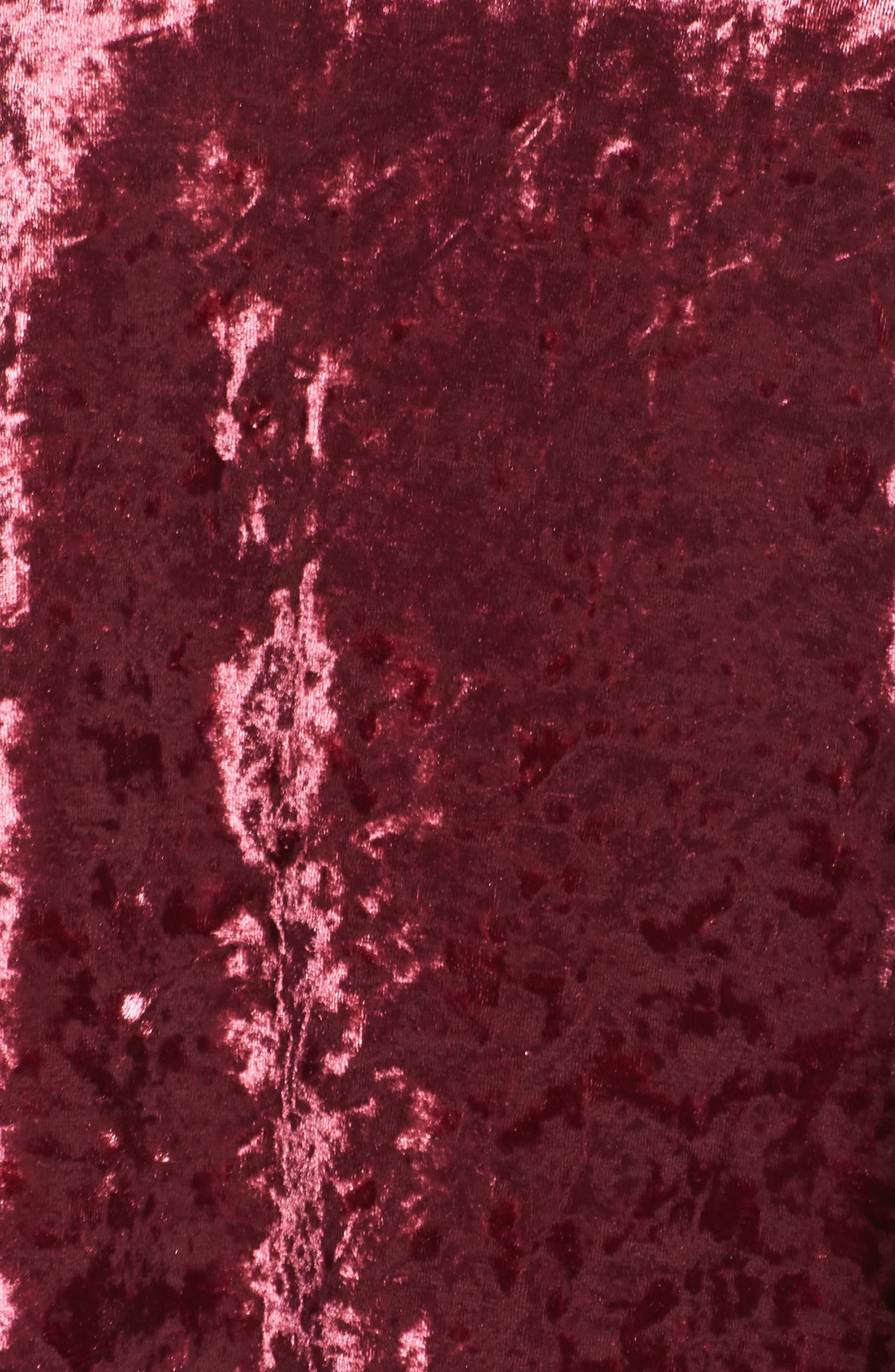 Alternate Image 5  - Glamorous Velvet Shift Dress (Plus Size)