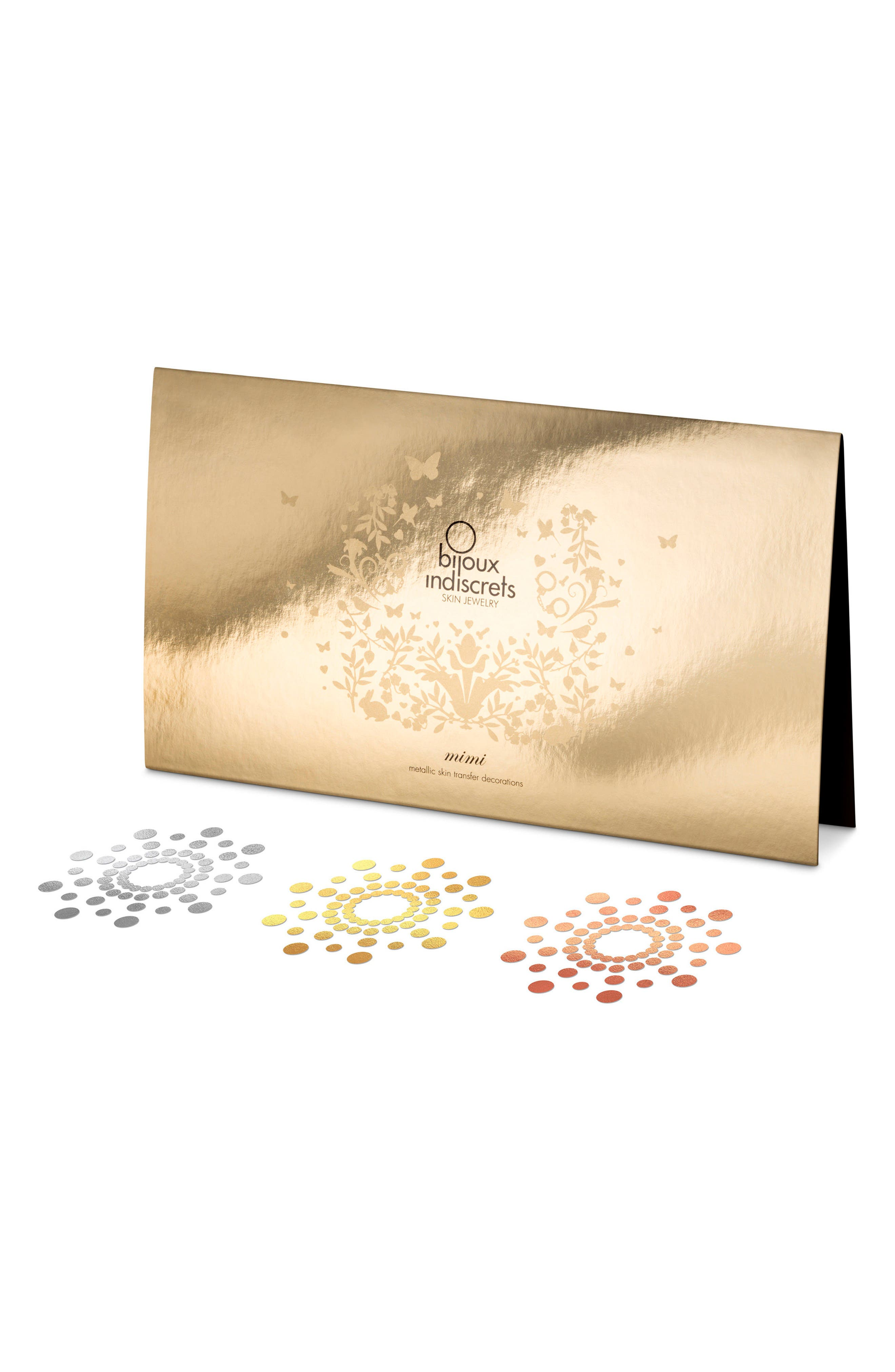 Mimi 3-Pack Skin Jewelry,                             Main thumbnail 1, color,                             Silver-Gold-Bronze