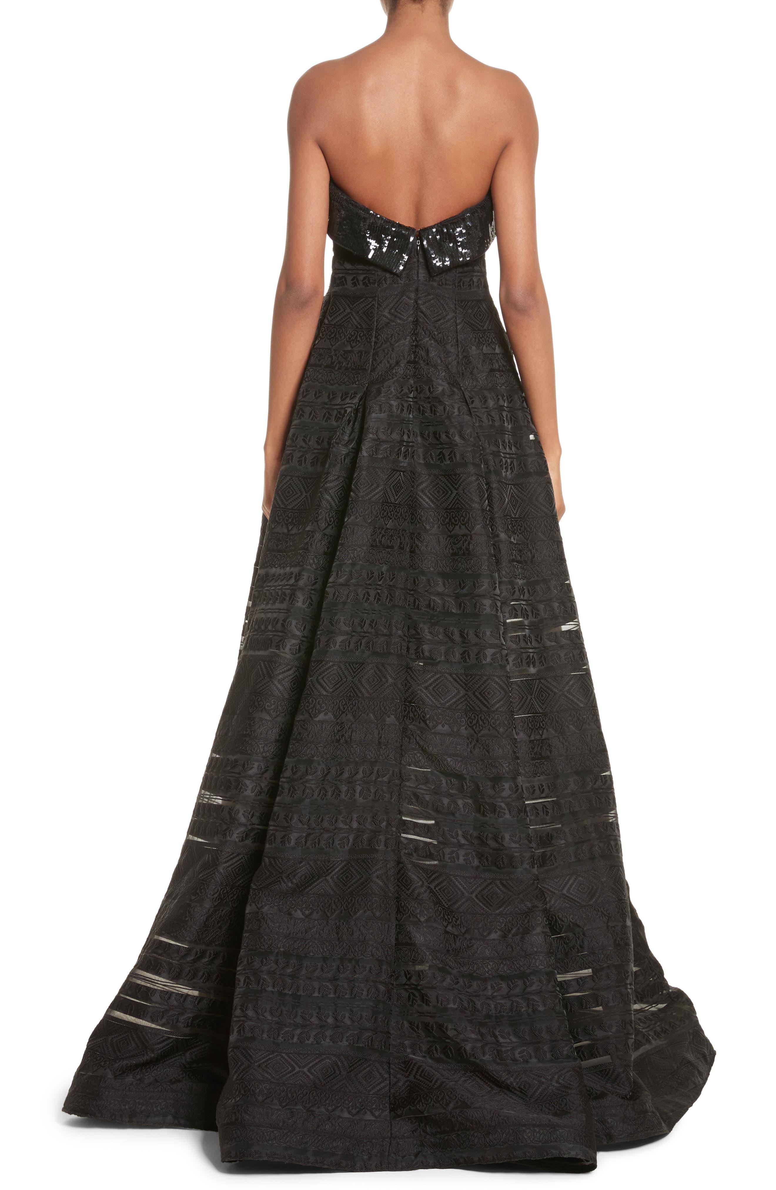 Alternate Image 2  - Sachin & Babi Noir Istiklal Embellished Strapless Ballgown