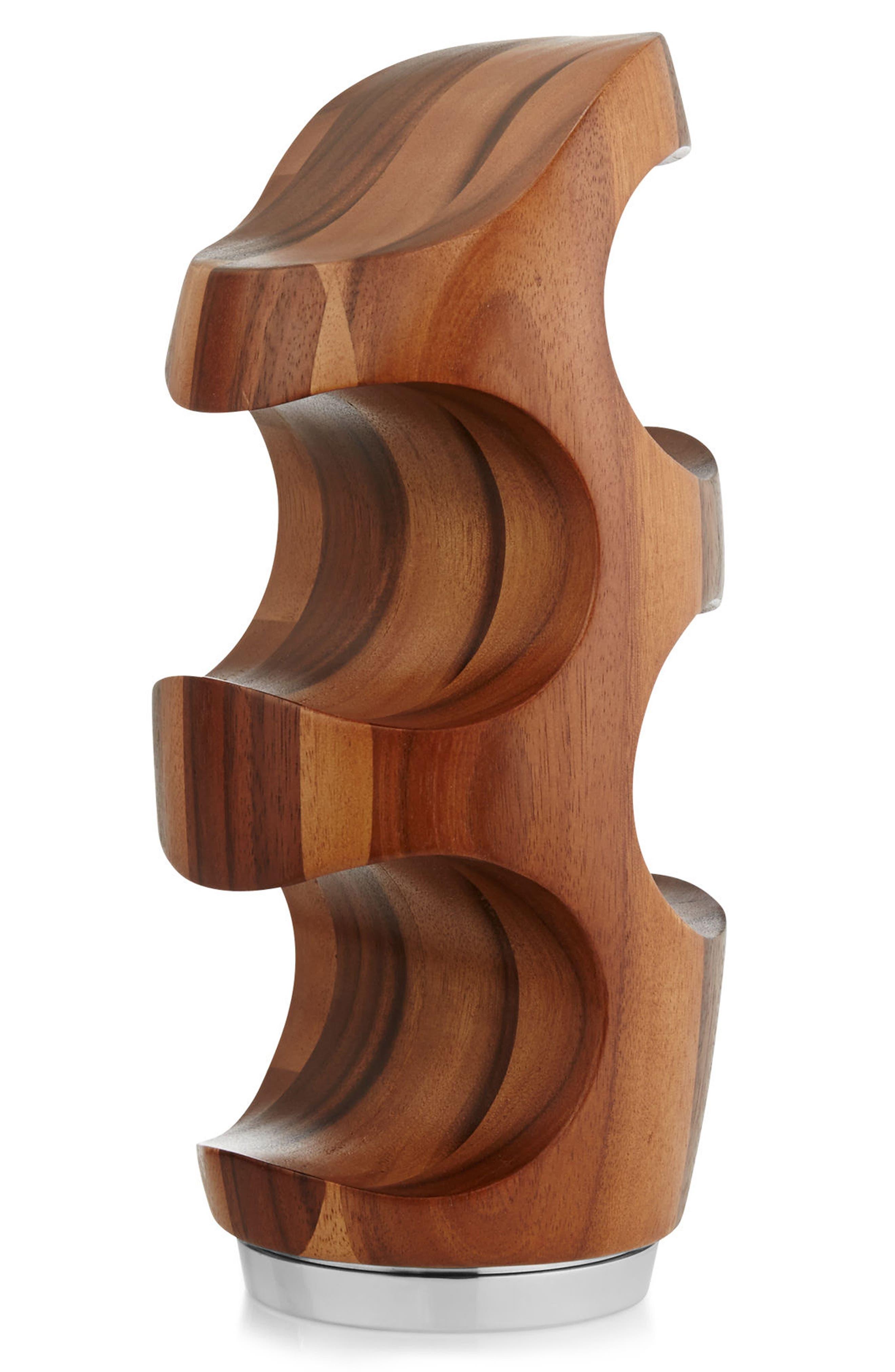 Vie Wine Rack,                         Main,                         color, Brown