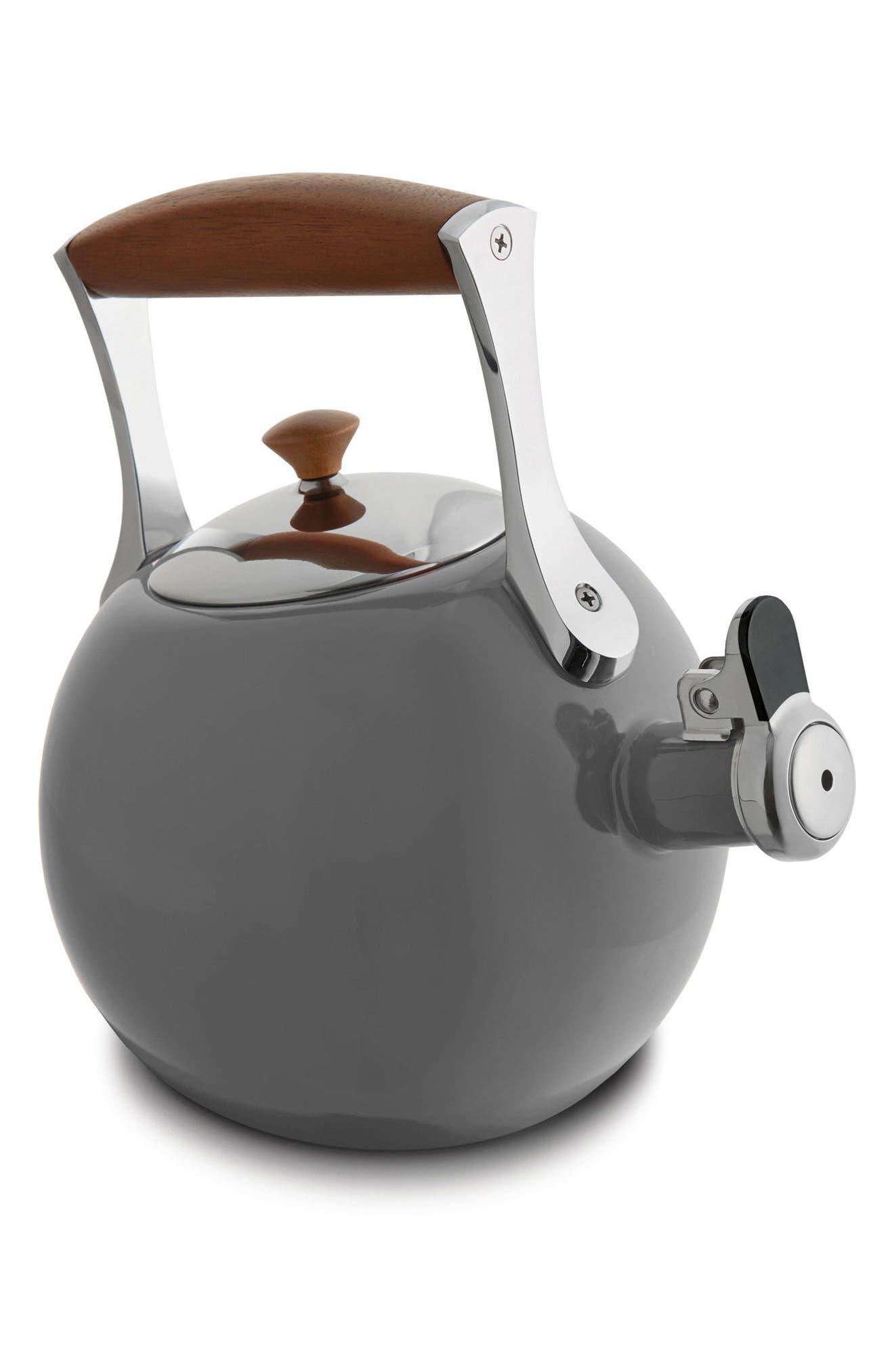 'Meridian' Tea Kettle,                             Main thumbnail 1, color,                             Slate