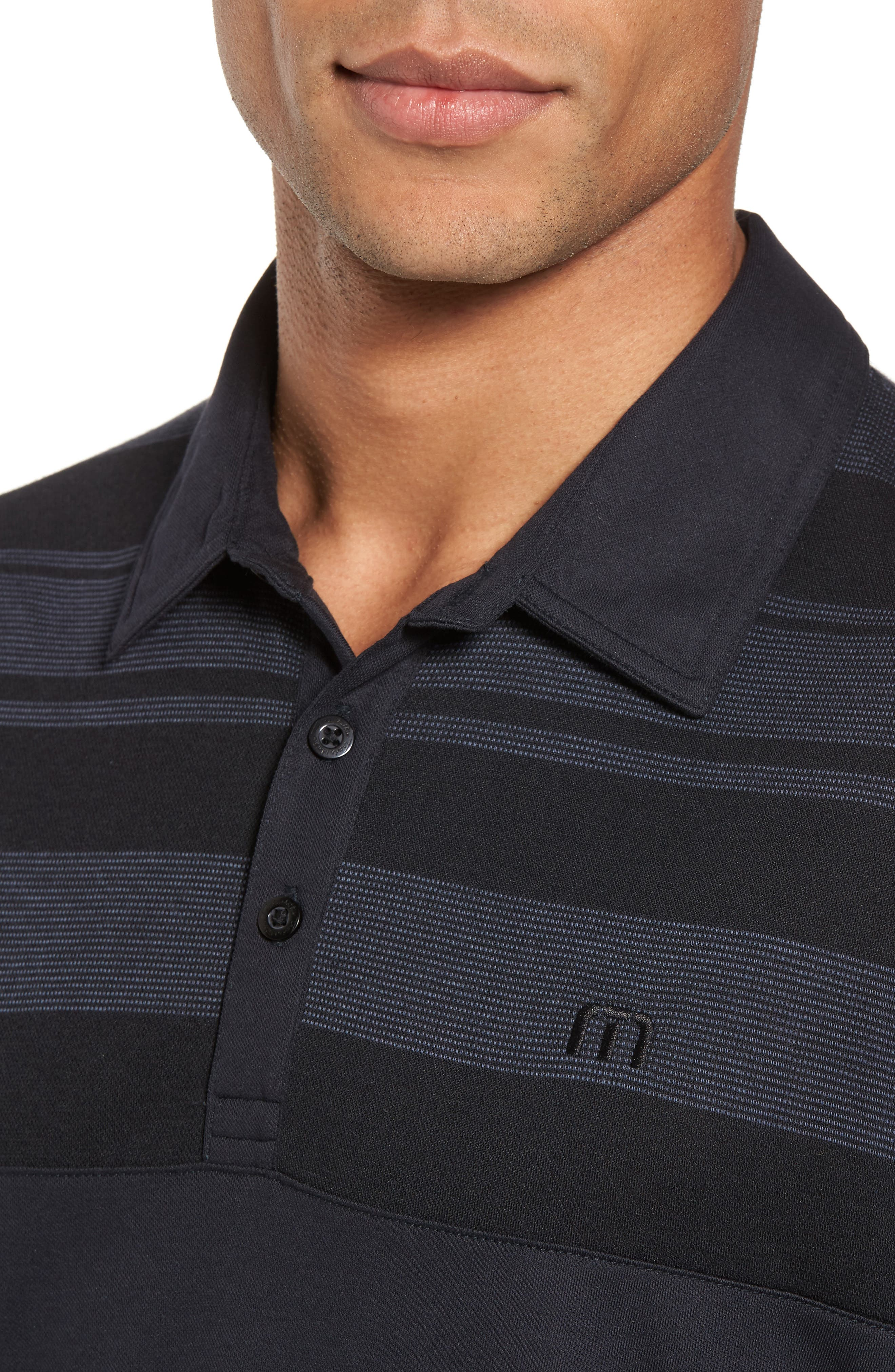 Alternate Image 4  - Travis Mathew Sweet Teets Jacquard Detail Polo