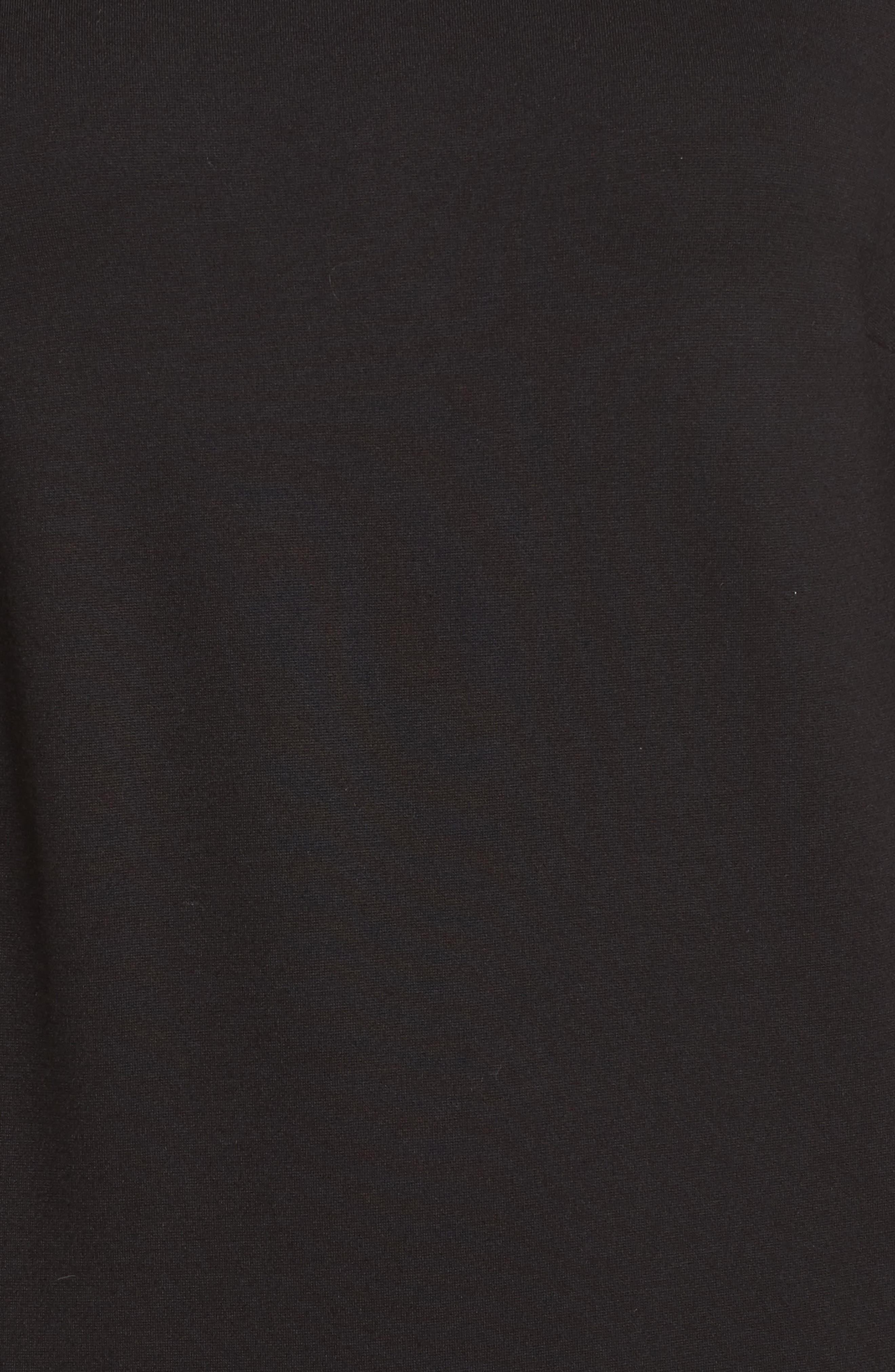 Matuku Lula Bell Sleeve Dress,                             Alternate thumbnail 5, color,                             Black