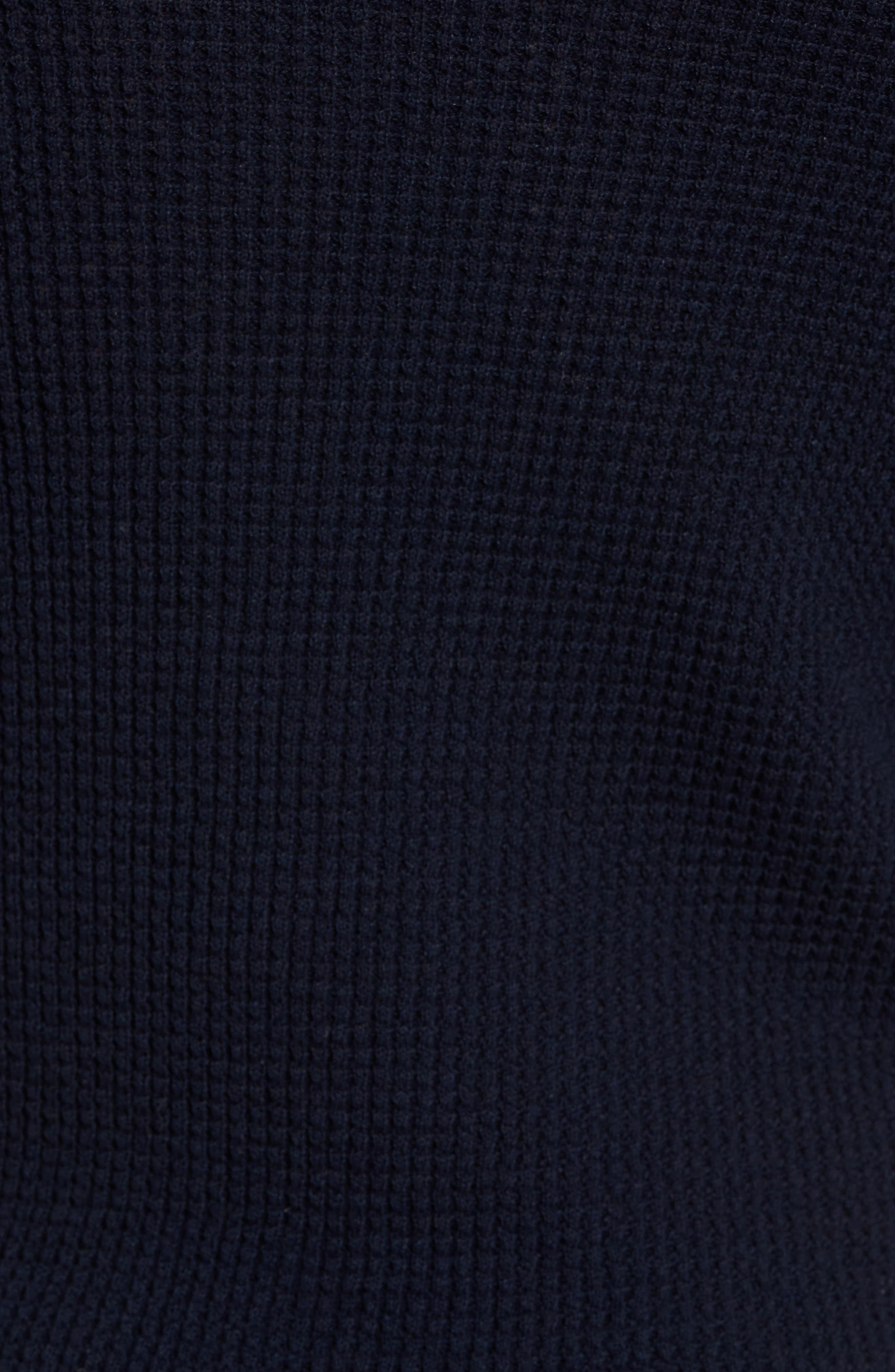 Thermal Pullover Hoodie,                             Alternate thumbnail 5, color,                             Marine