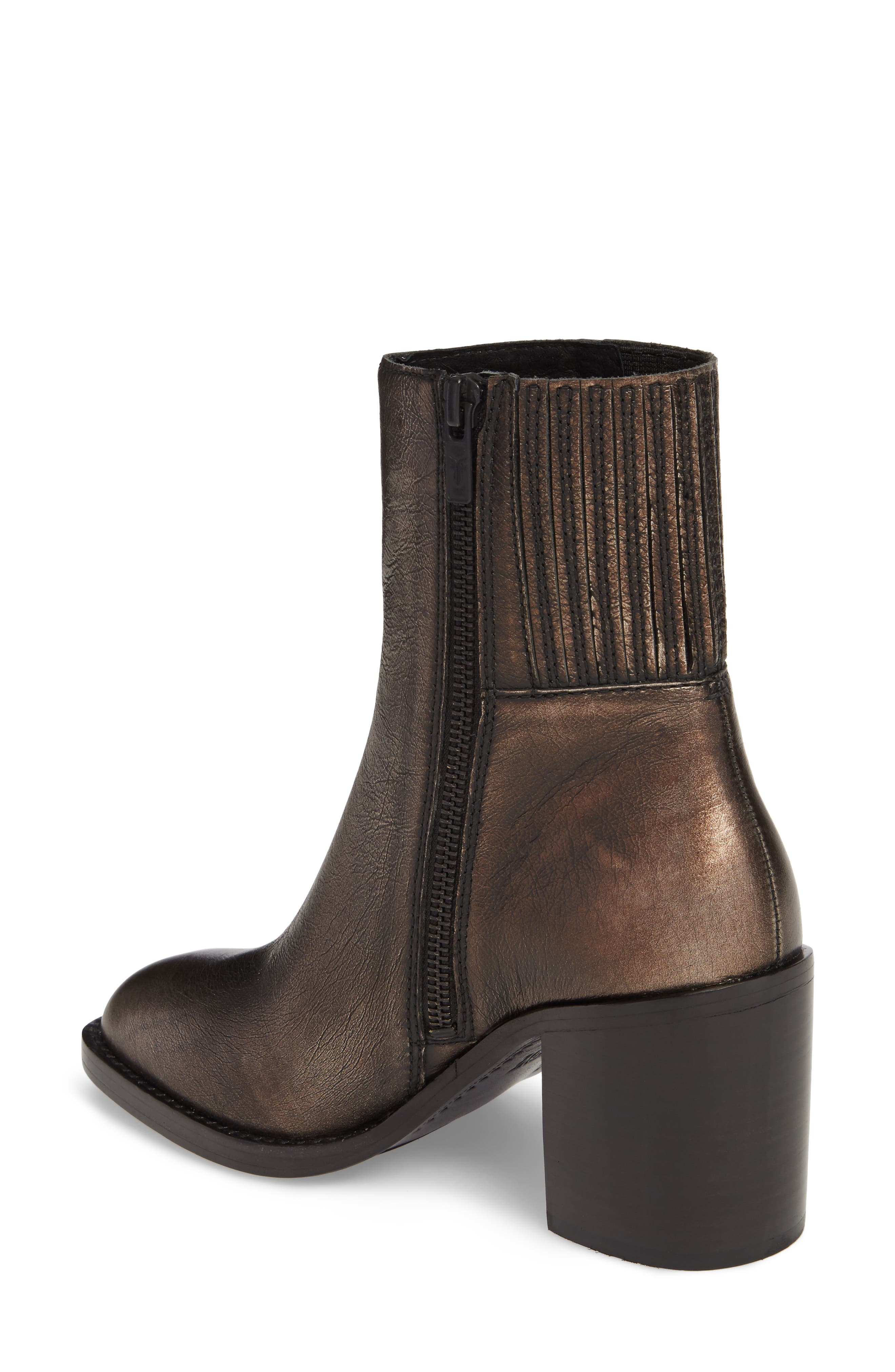 Pia Boot,                             Alternate thumbnail 2, color,                             Bronze Leather