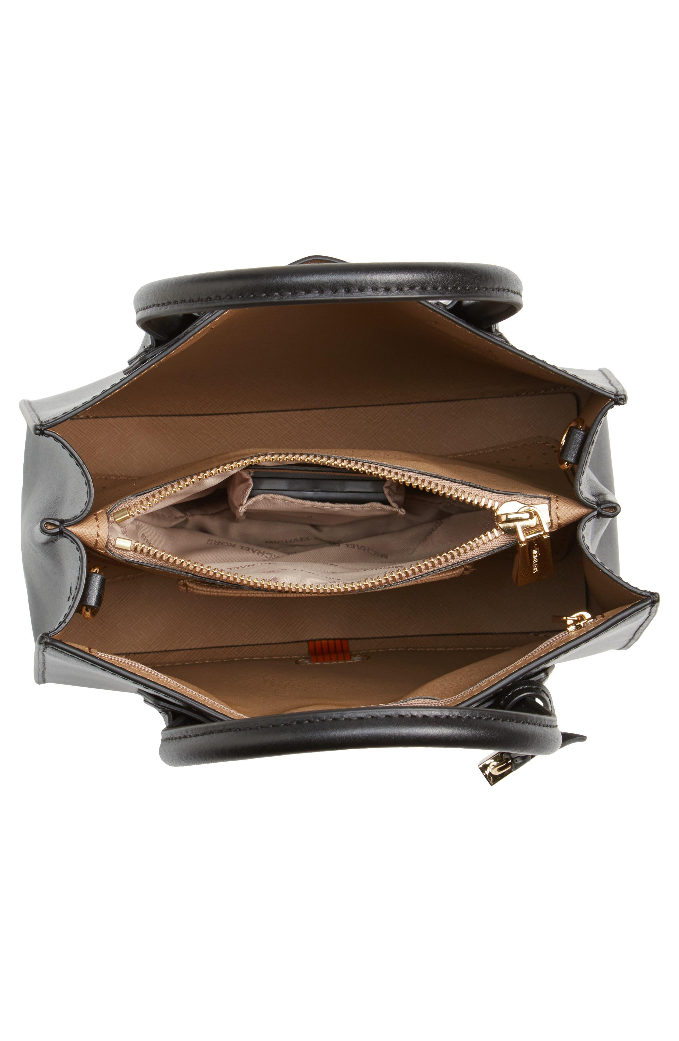 Alternate Image 4  - MICHAEL Michael Kors Small Mercer Messenger Leather Tote