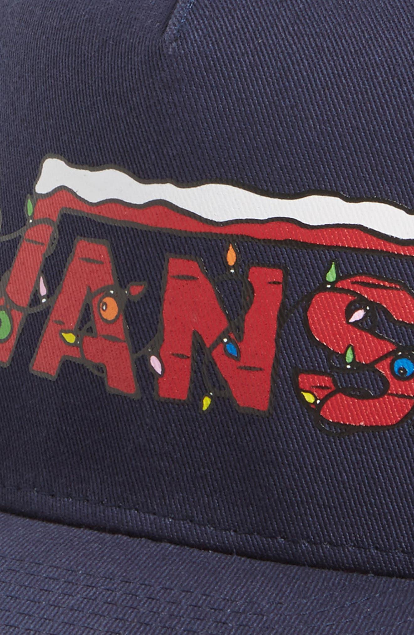 Alternate Image 3  - Vans x Peanuts Snapback Ball Cap