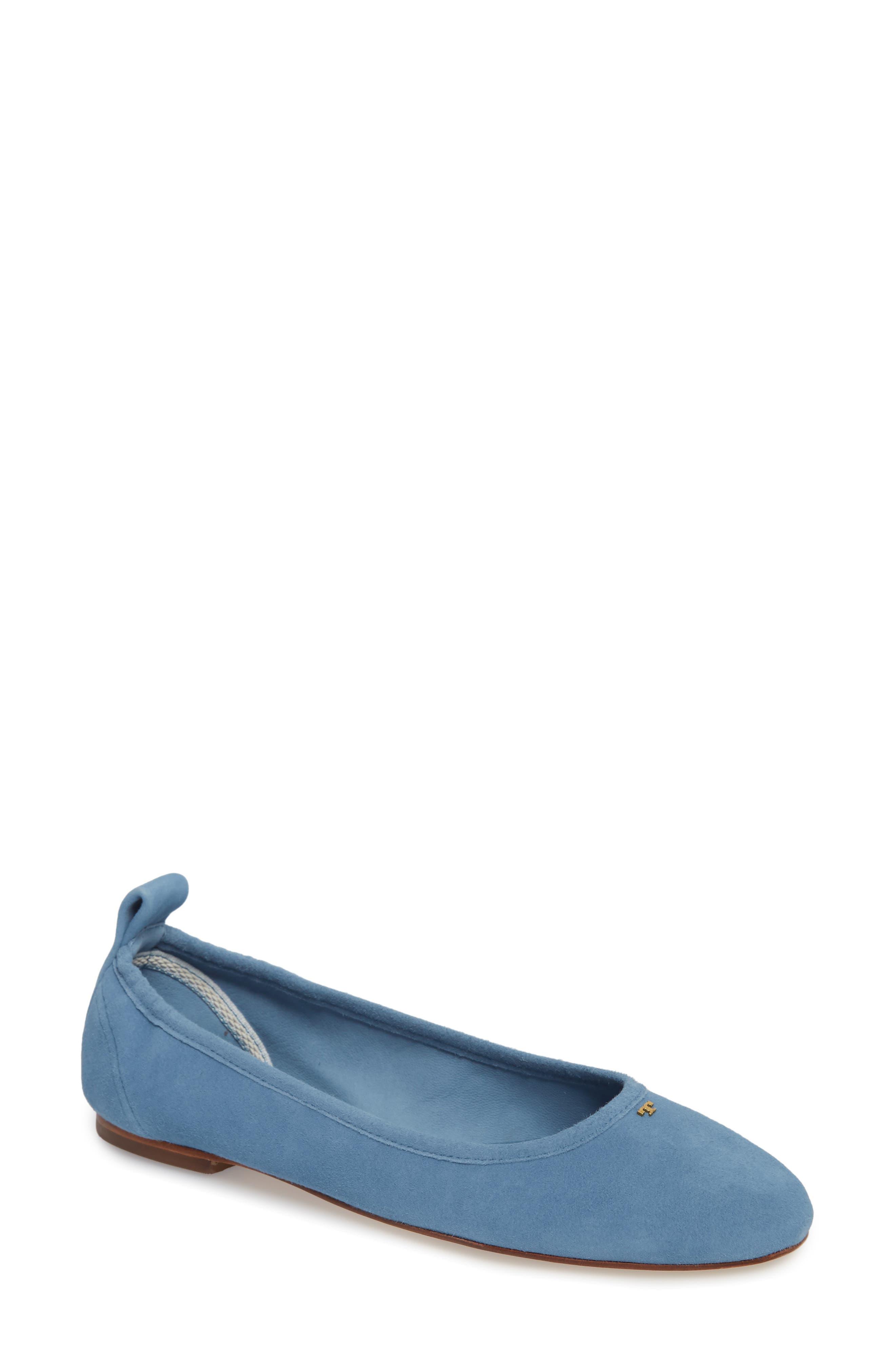 Therese Ballet Flat,                             Main thumbnail 1, color,                             Blue Yonder