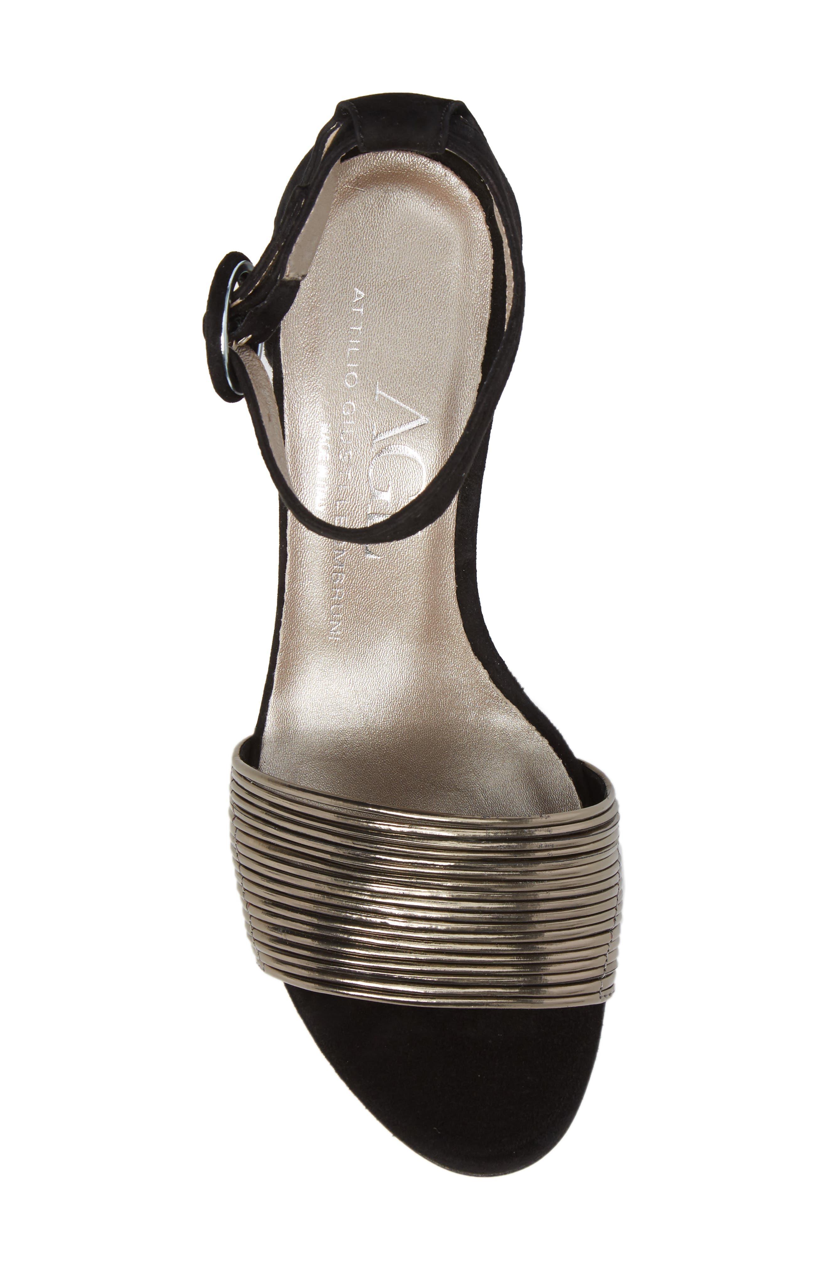 Alternate Image 5  - AGL Ankle Strap Sandal (Women)