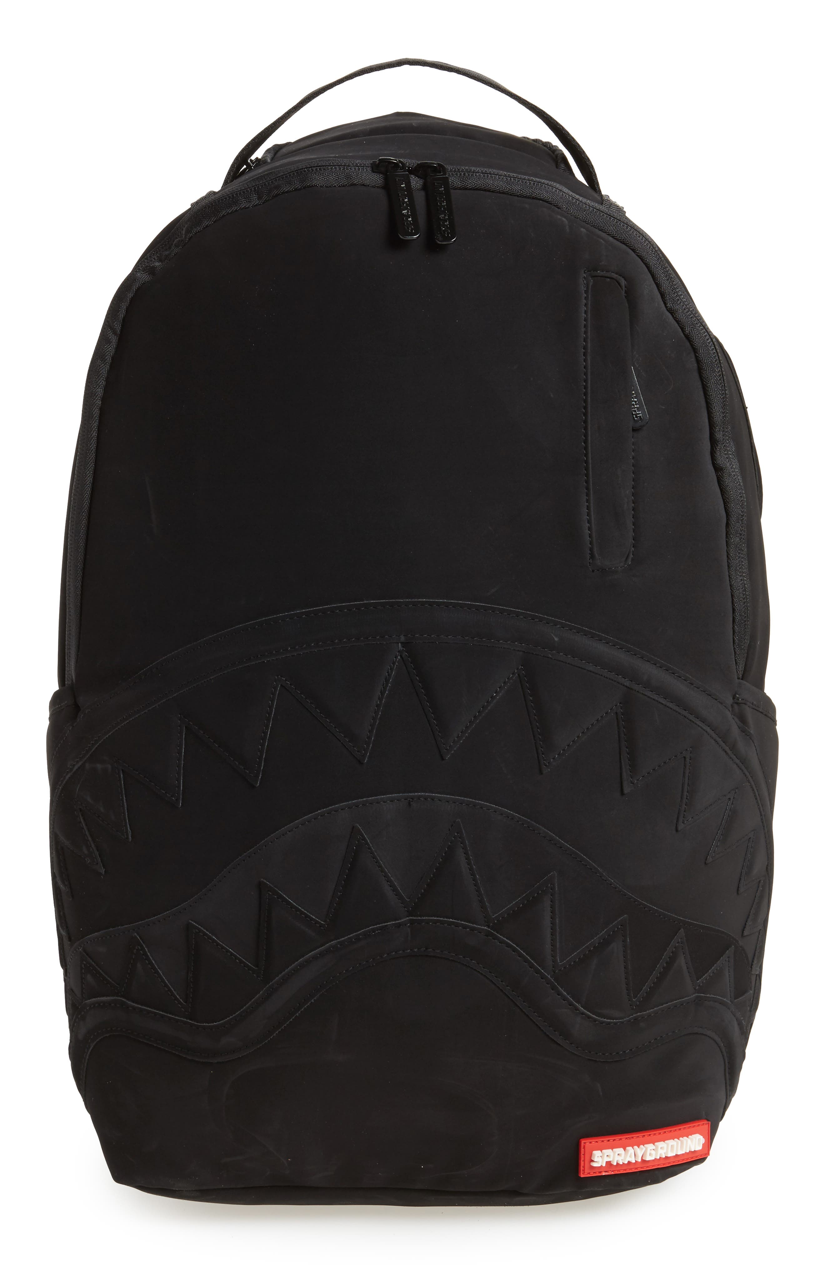 Ghost Shark Backpack,                             Main thumbnail 1, color,                             Black