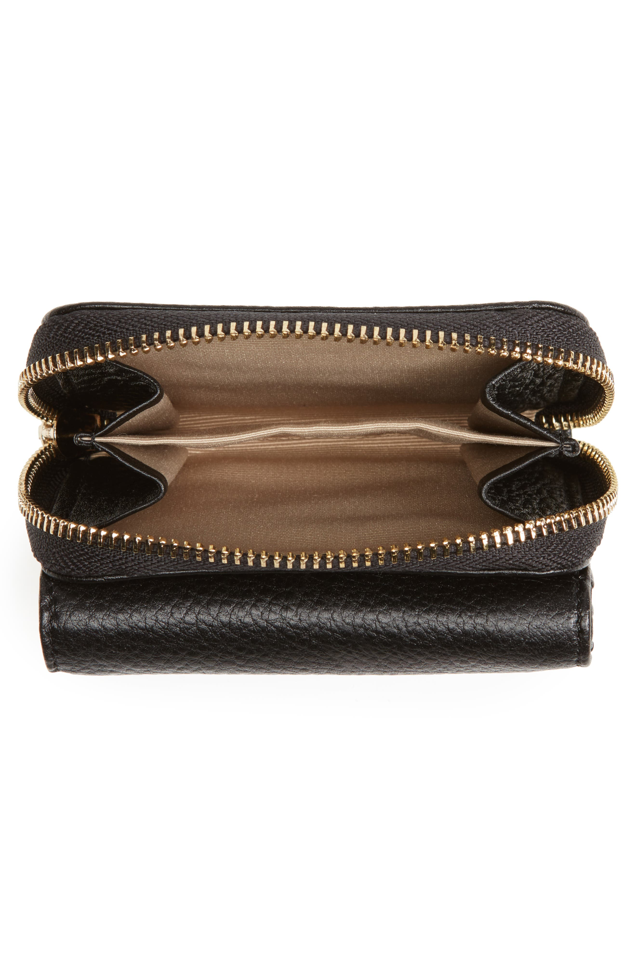 Alternate Image 4  - Céline Dion Small Adagio Leather Wallet