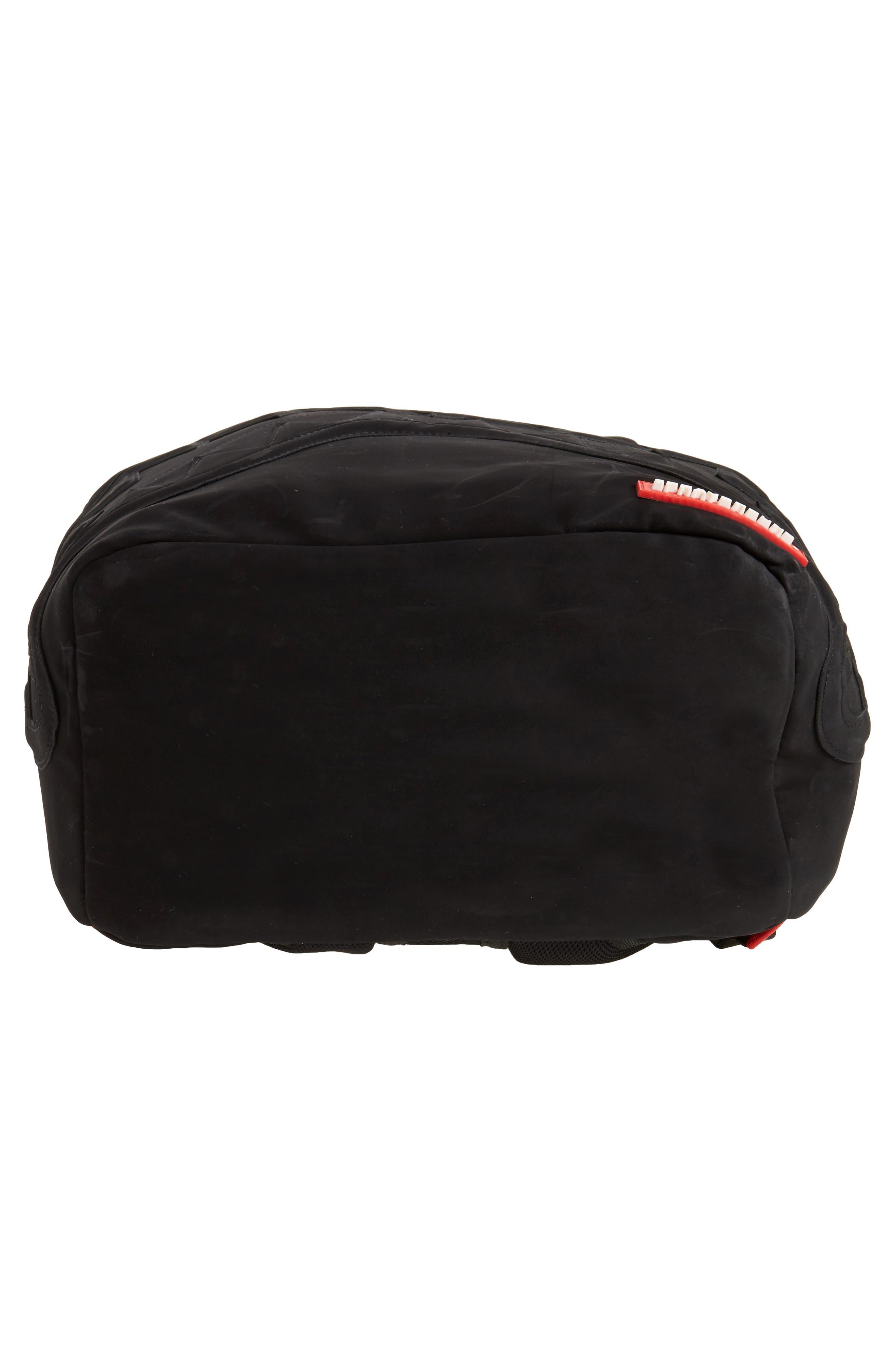 Ghost Shark Backpack,                             Alternate thumbnail 6, color,                             Black