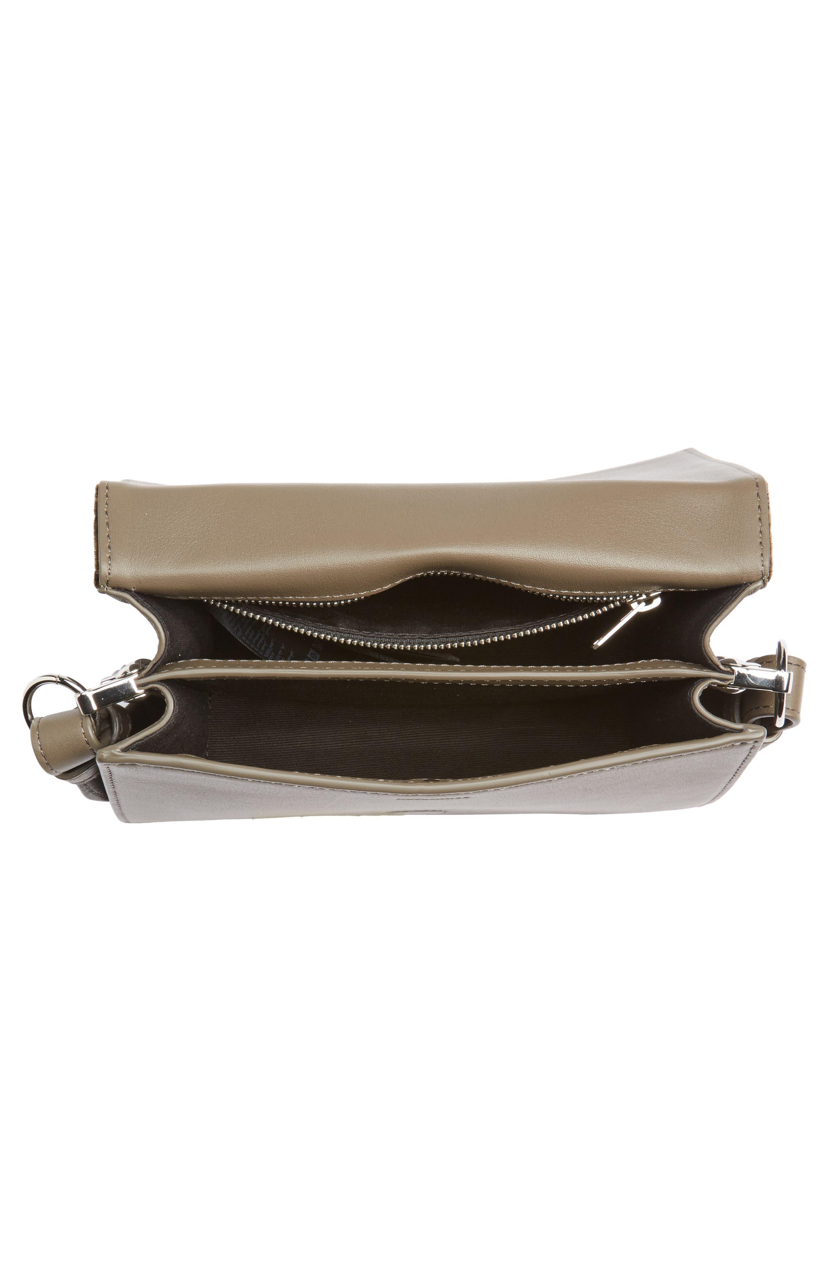 Keel Shoulder Bag,                             Alternate thumbnail 4, color,                             Mink Grey