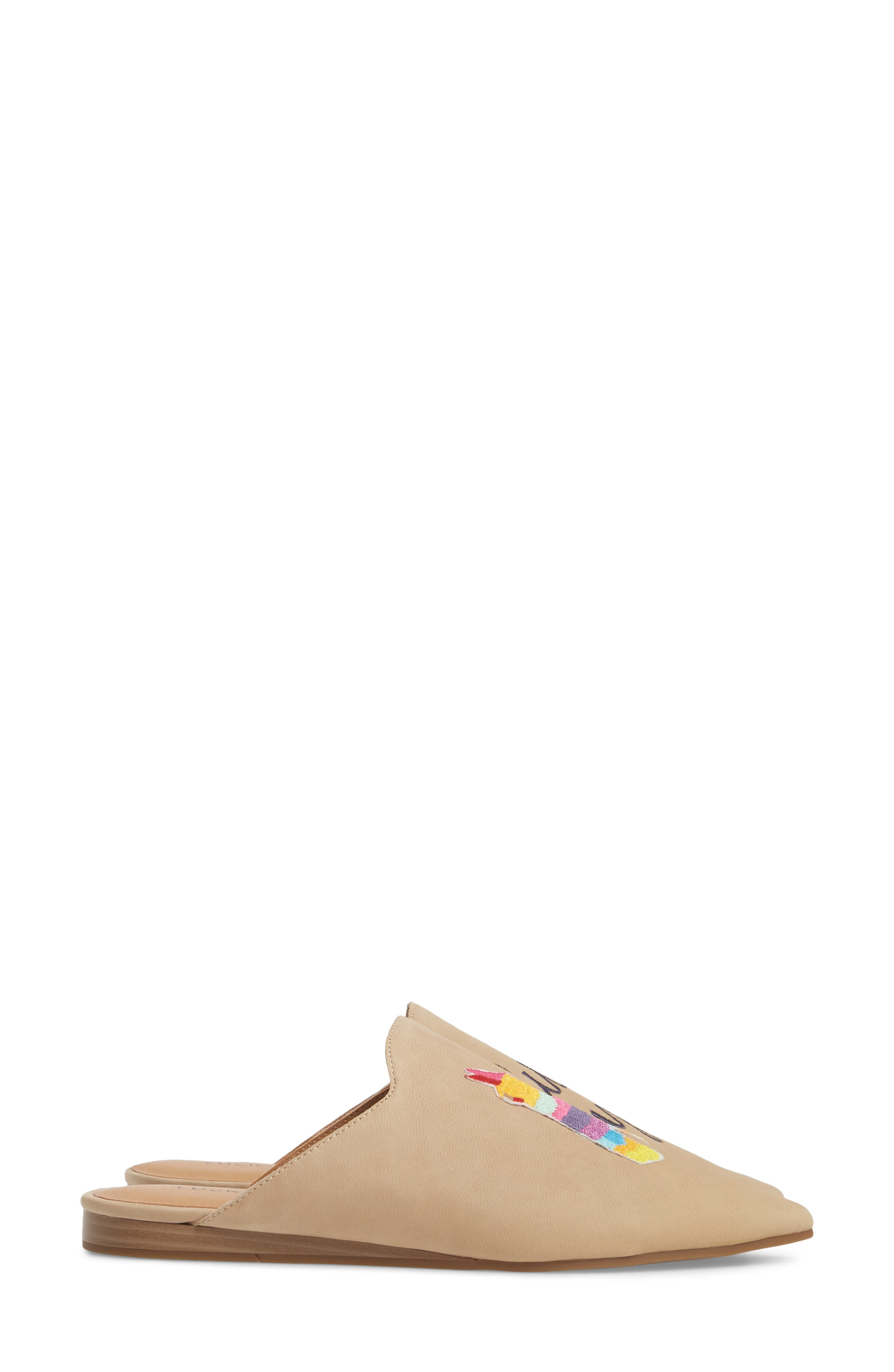Blythh II Mule,                             Alternate thumbnail 3, color,                             Travertine Nubuck
