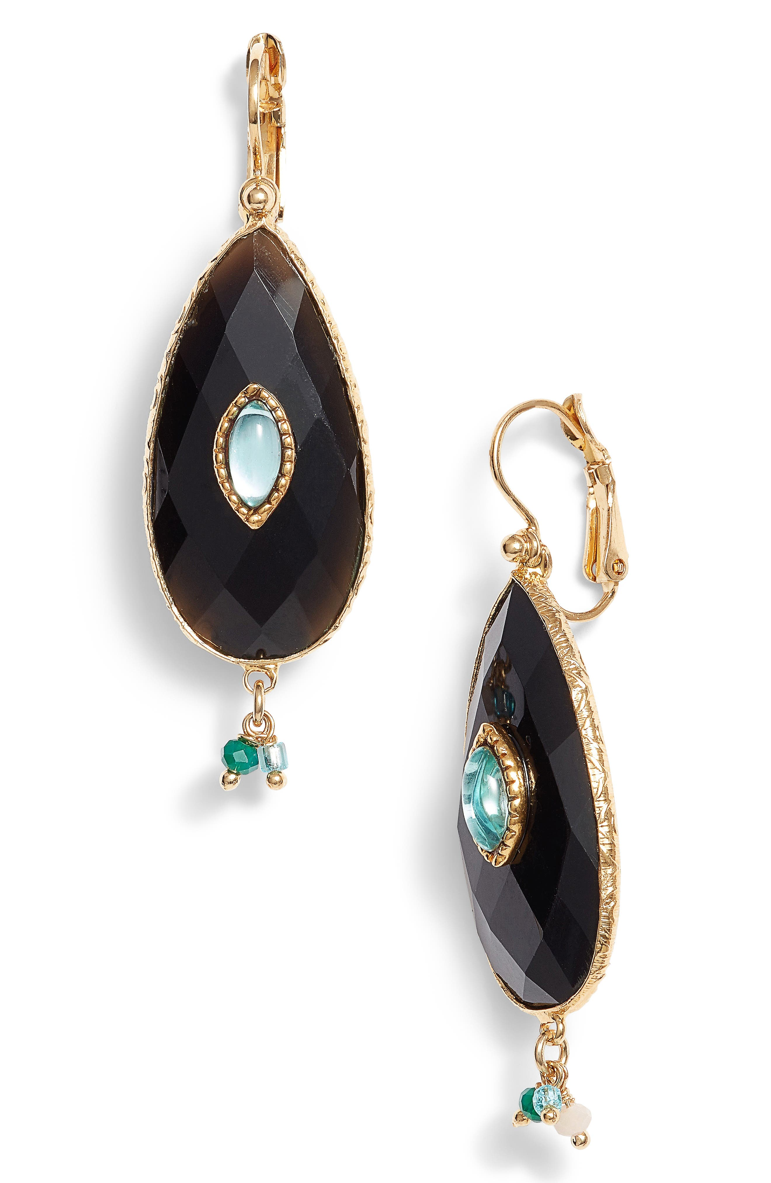 Alternate Image 1 Selected - Gas Bijoux Serti Goutte Drop Earrings
