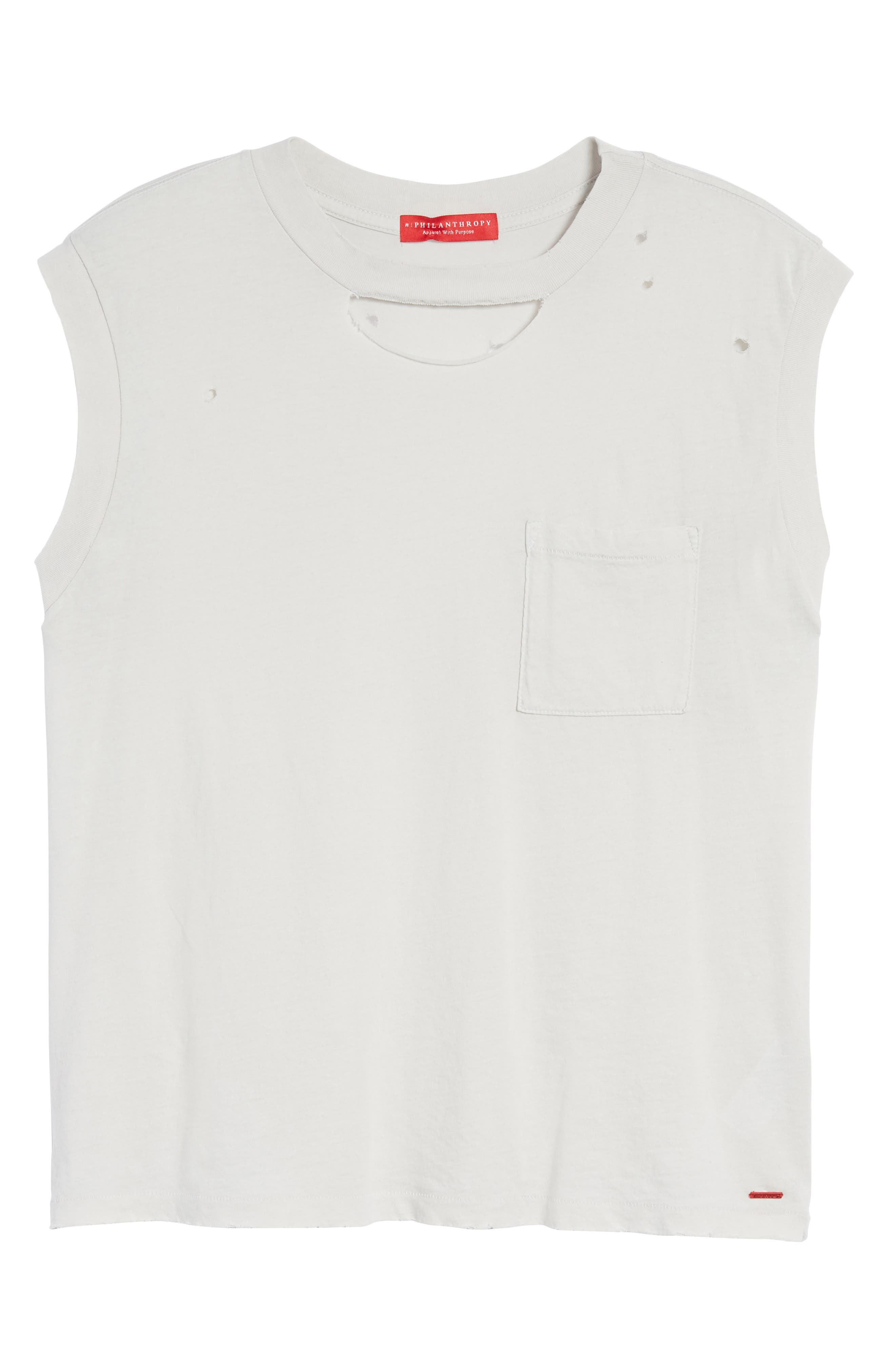 Serge Deconstructed Pocket Tank,                             Alternate thumbnail 6, color,                             Silver Birch