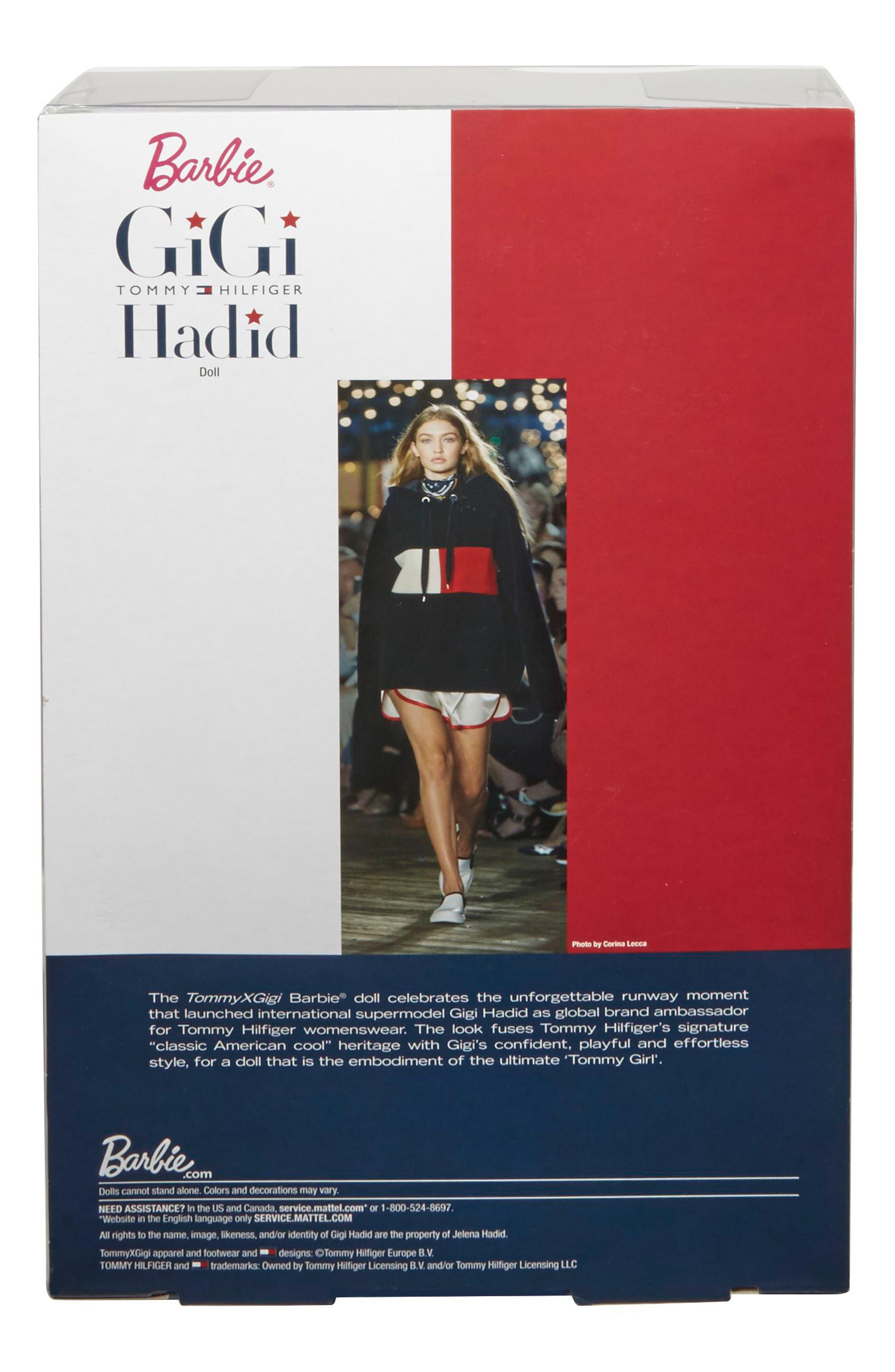 Alternate Image 3  - Mattel Barbie® Signature Tommy Hilfiger x Gigi Hadid Doll