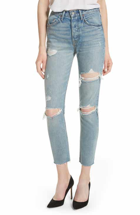 GRLFRND Karolina Rigid High Waist Skinny Jeans (A Little More Love) b9fd49e8d
