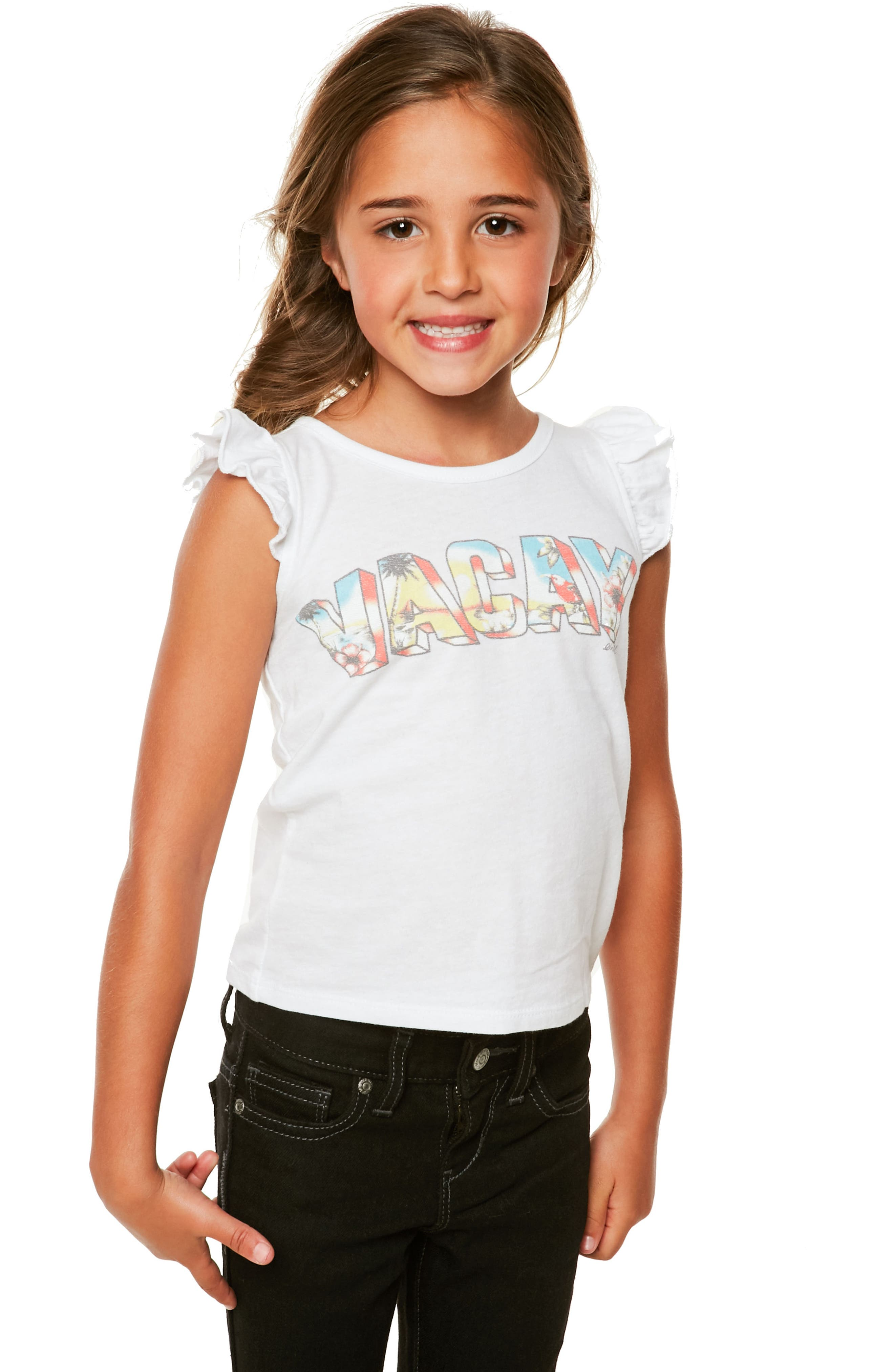 Alternate Image 3  - O'Neill Vacay Day Graphic Tee (Toddler Girls & Little Girls)
