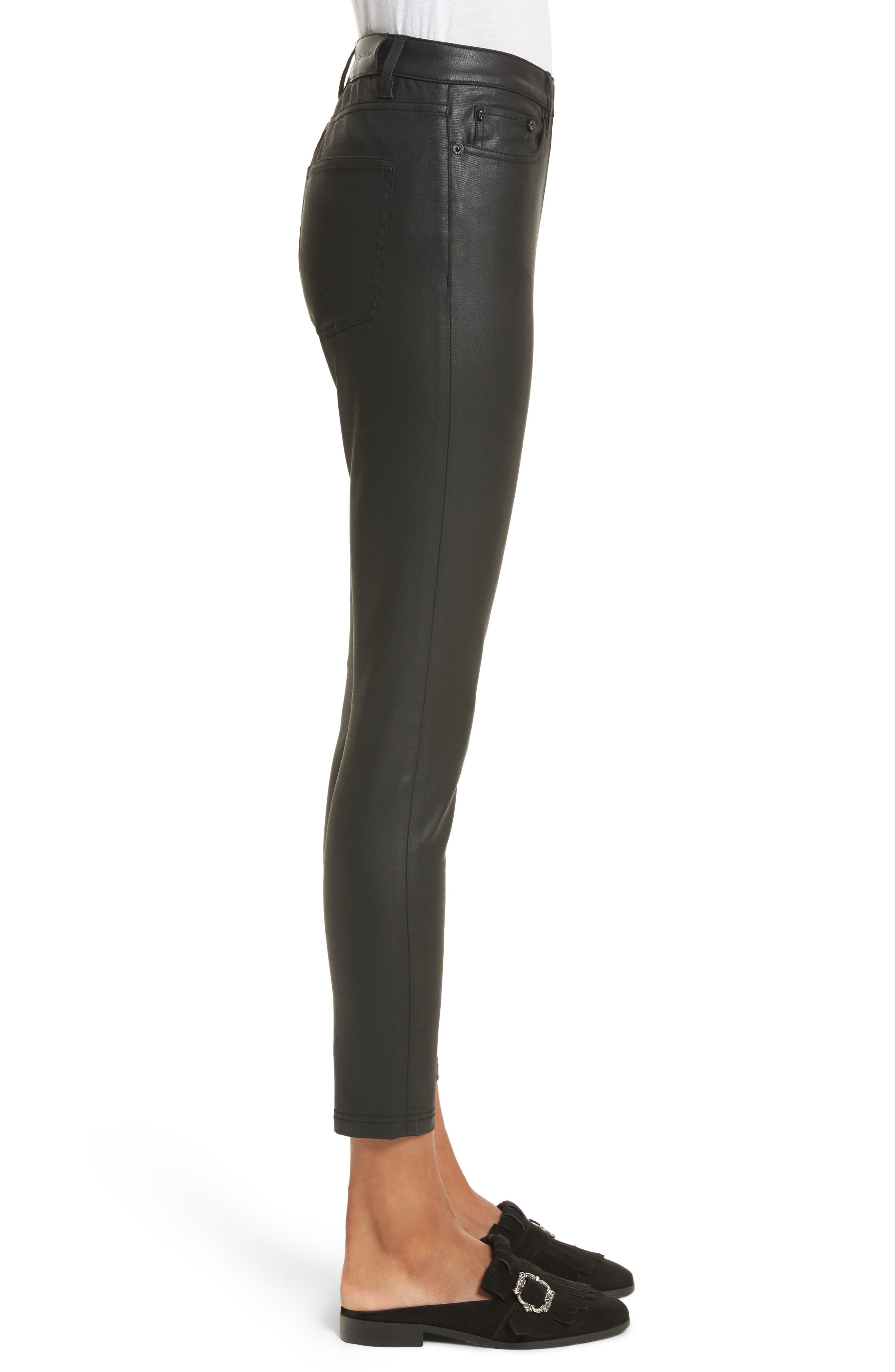 Alternate Image 3  - The Kooples Coated Stretch Ankle Skinny Jeans