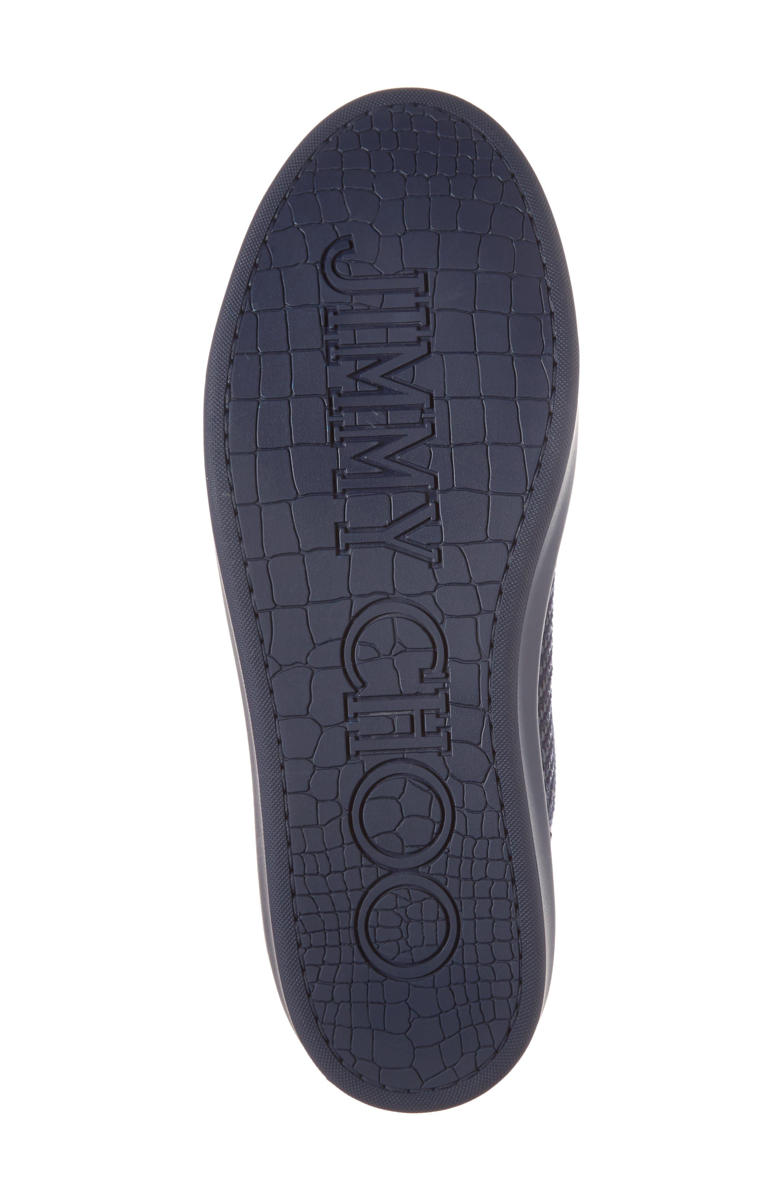 Argyle Sneaker,                             Alternate thumbnail 6, color,                             Navy