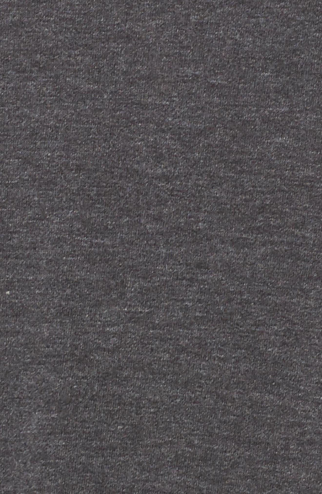 Sleepy Tunic Shirt,                             Alternate thumbnail 6, color,                             Grey Wolf Heather