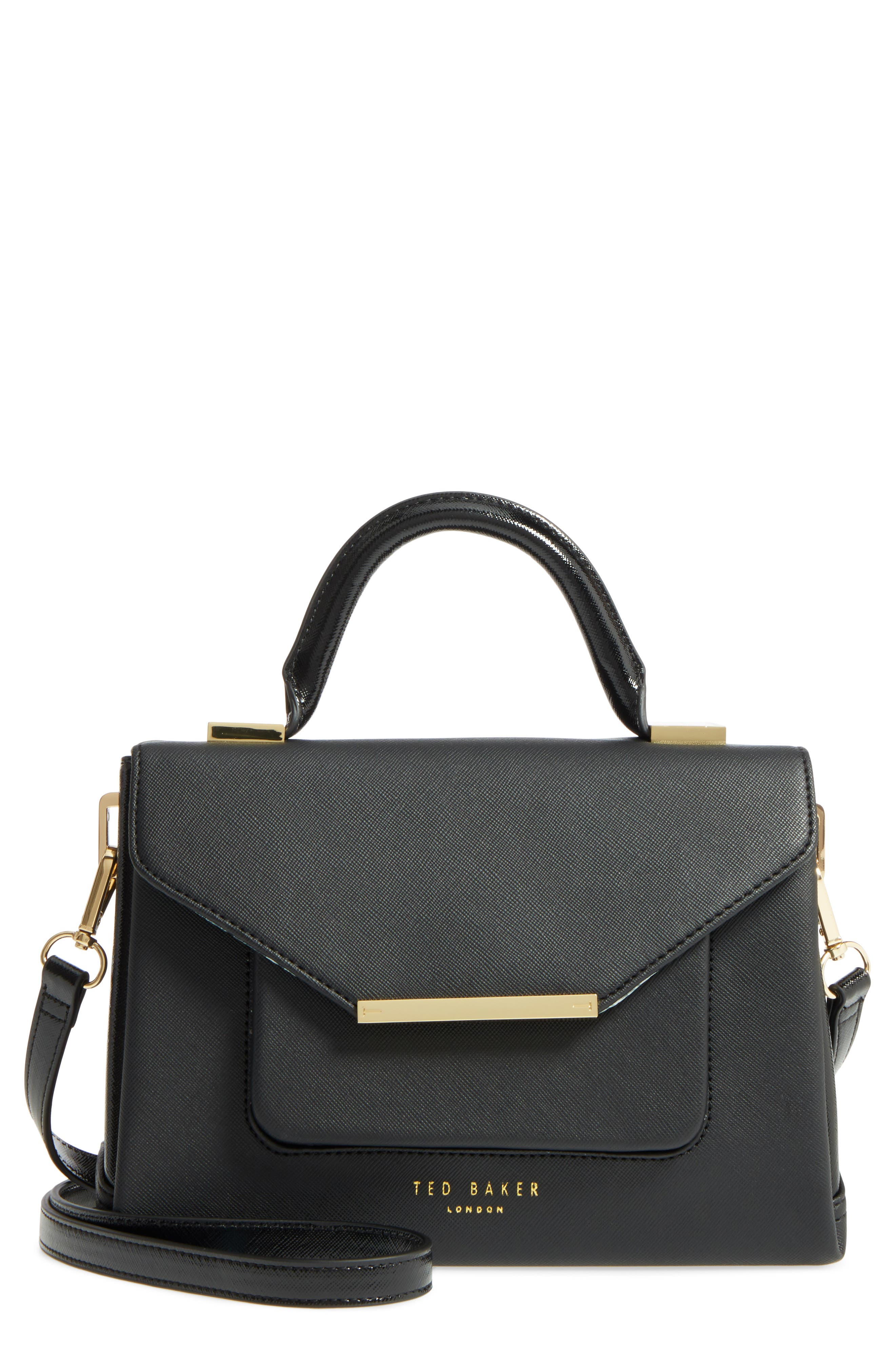 Ted Baker London Faux Leather Satchel