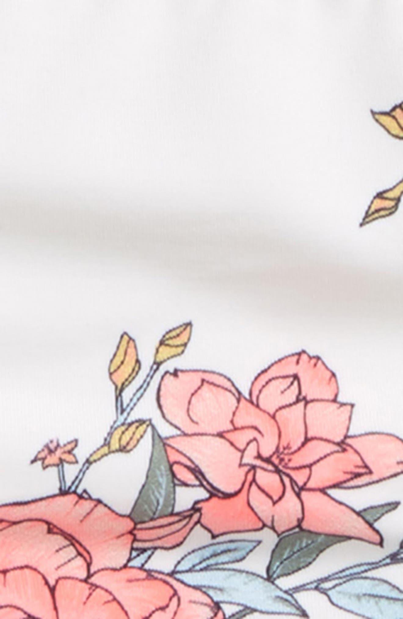 Alternate Image 2  - Billabong Nova Floral Two-Piece Swimsuit (Little Girls & Big Girls)