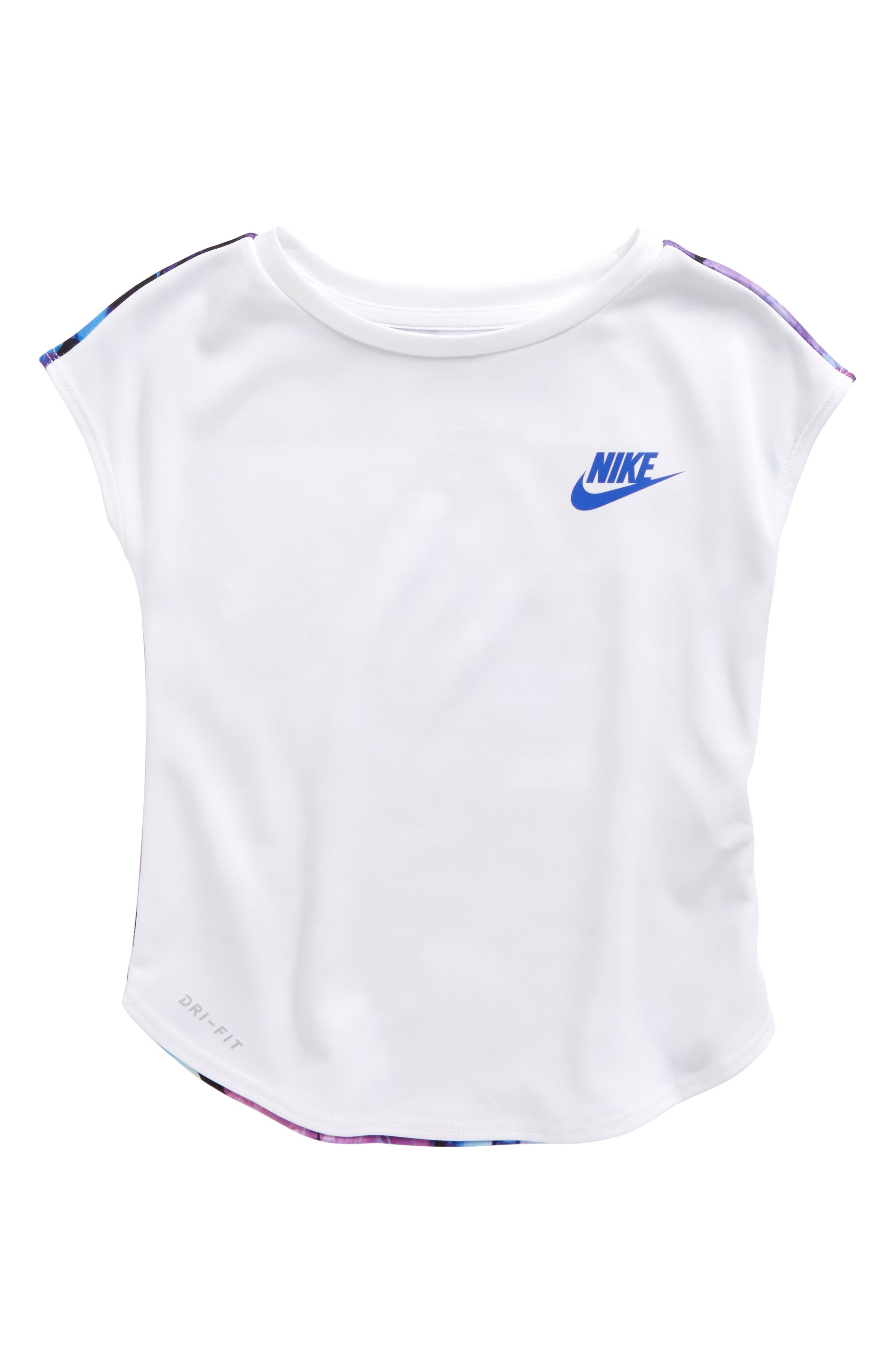 Main Image - Nike Flower Jams Graphic Dry Tee (Toddler Girls & Little Girls)