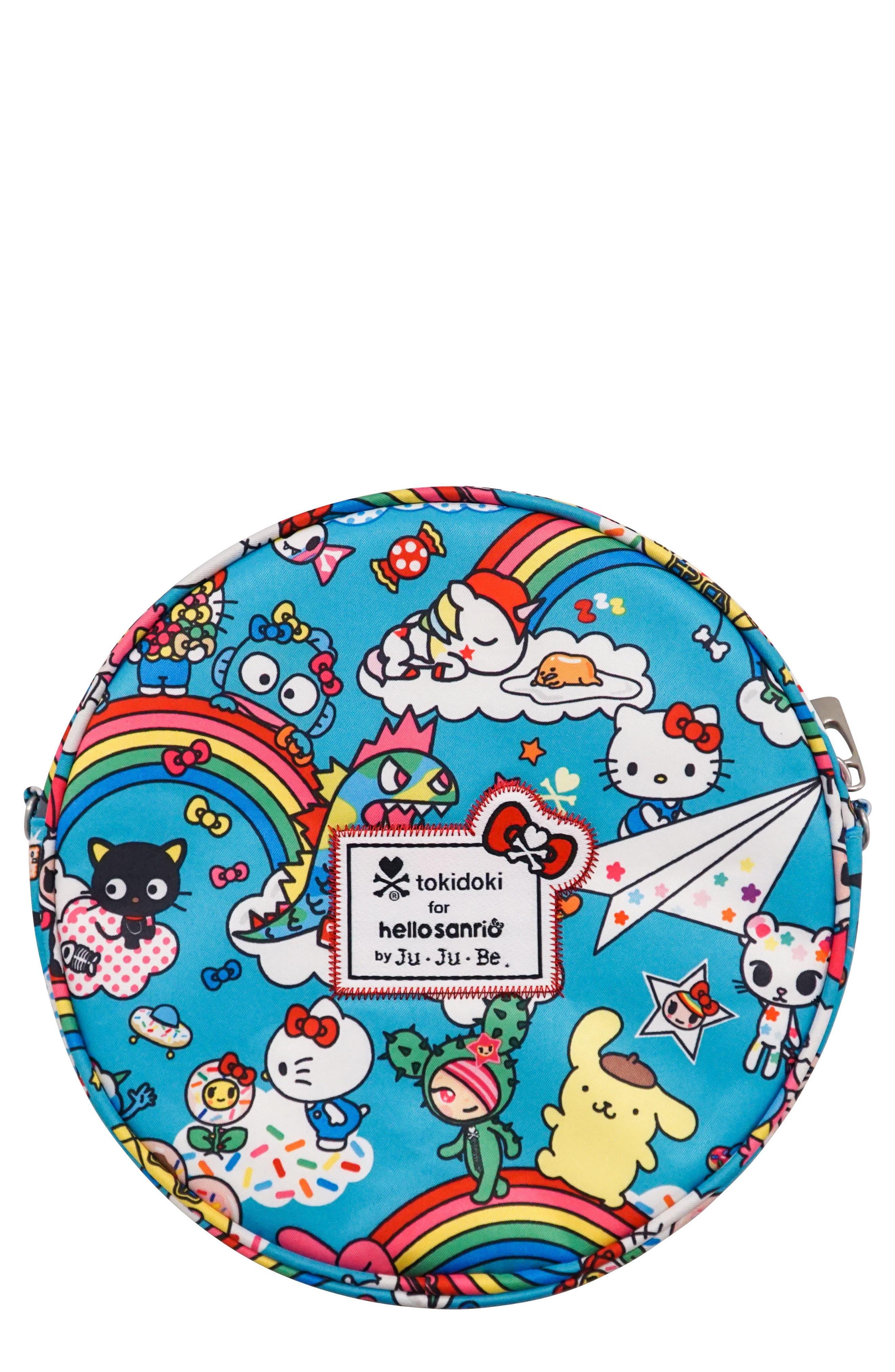 x tokidoki for Hello Sanrio Rainbow Dreams Be Bop Mini Bag,                         Main,                         color, Rainbow Dreams