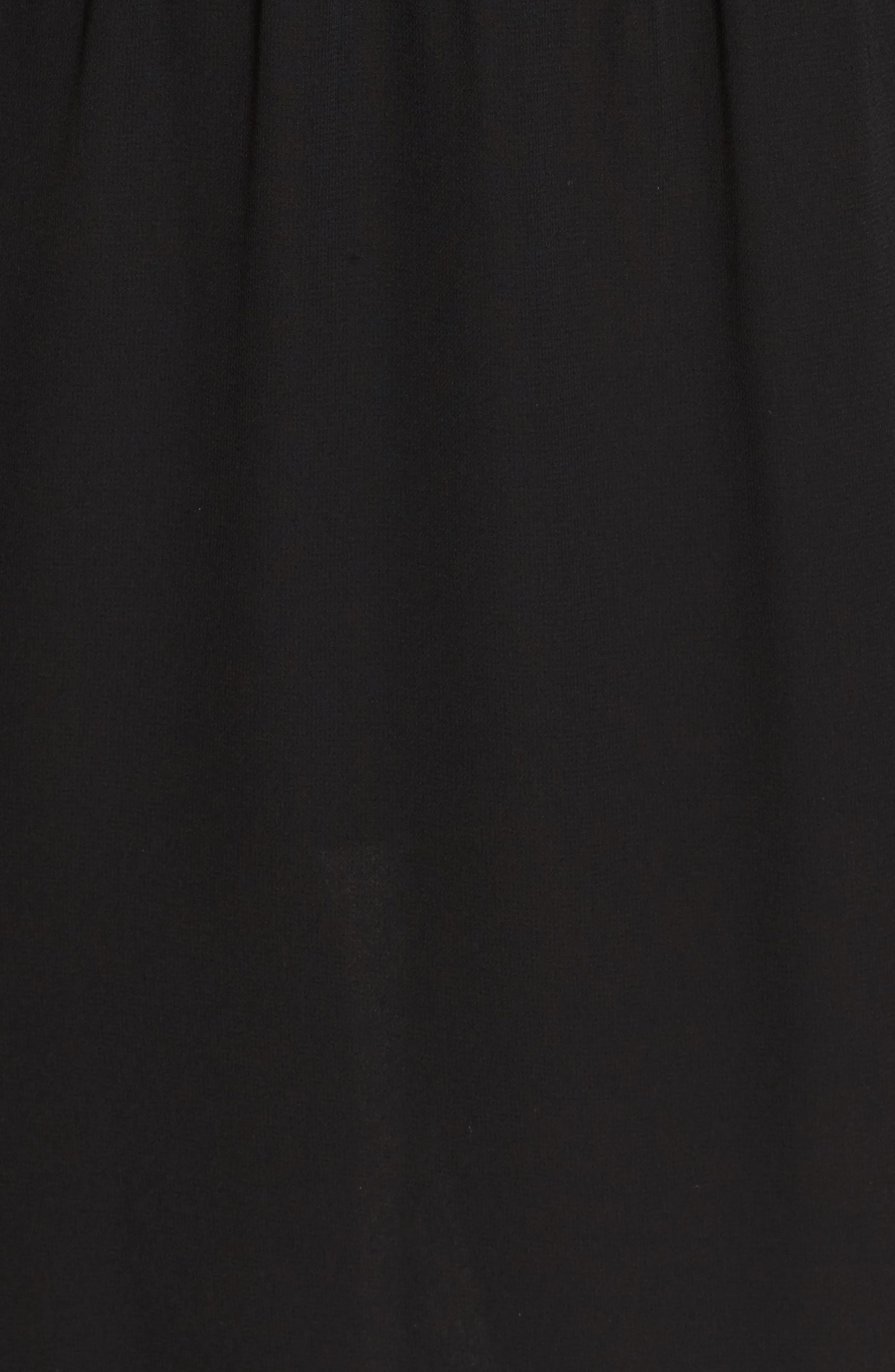 Day Dreamer Dress,                             Alternate thumbnail 5, color,                             Black