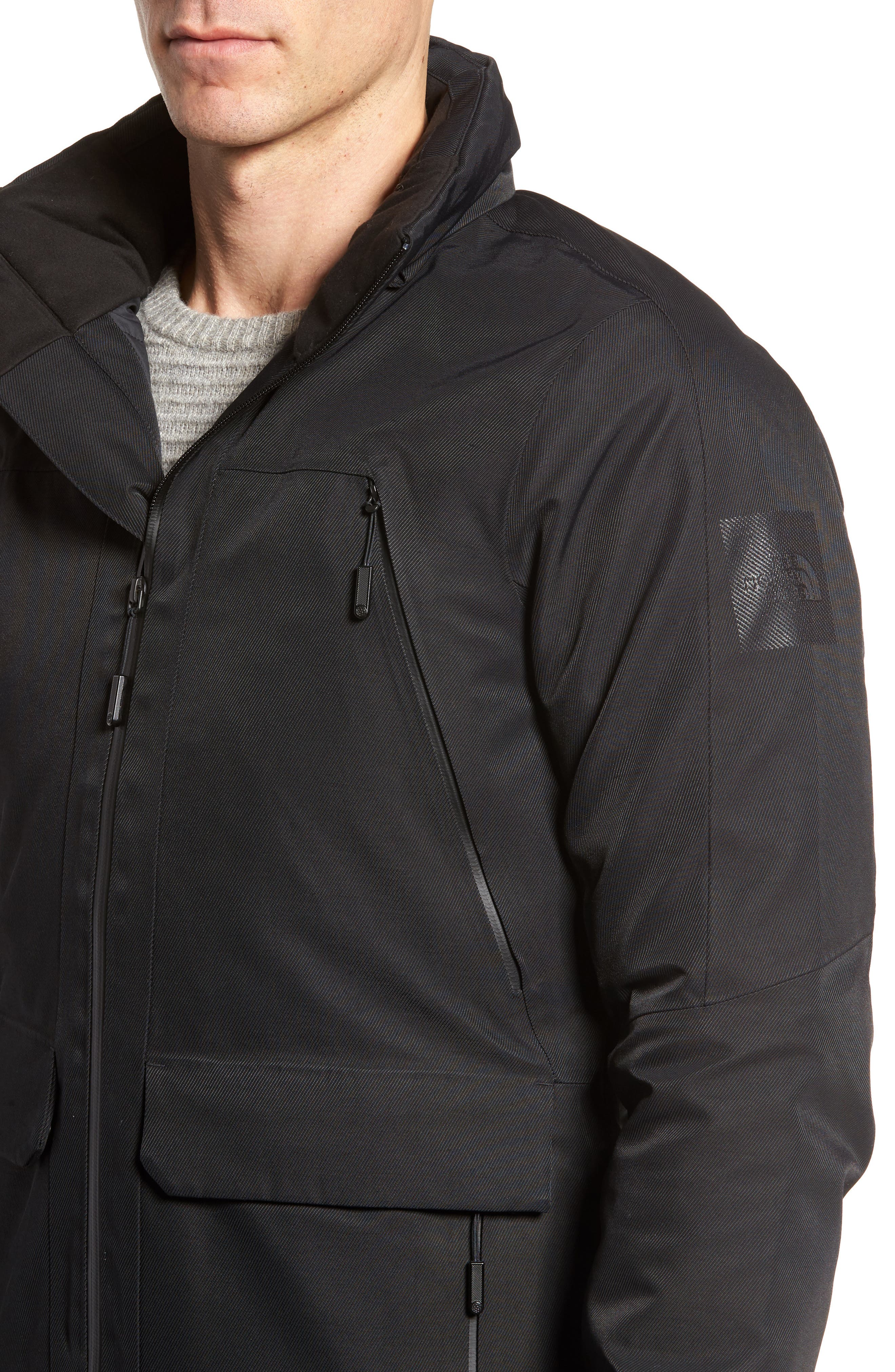 Cryos Waterproof Gore-Tex<sup>®</sup> PrimaLoft<sup>®</sup> Gold Insulated Jacket,                             Alternate thumbnail 4, color,                             Black