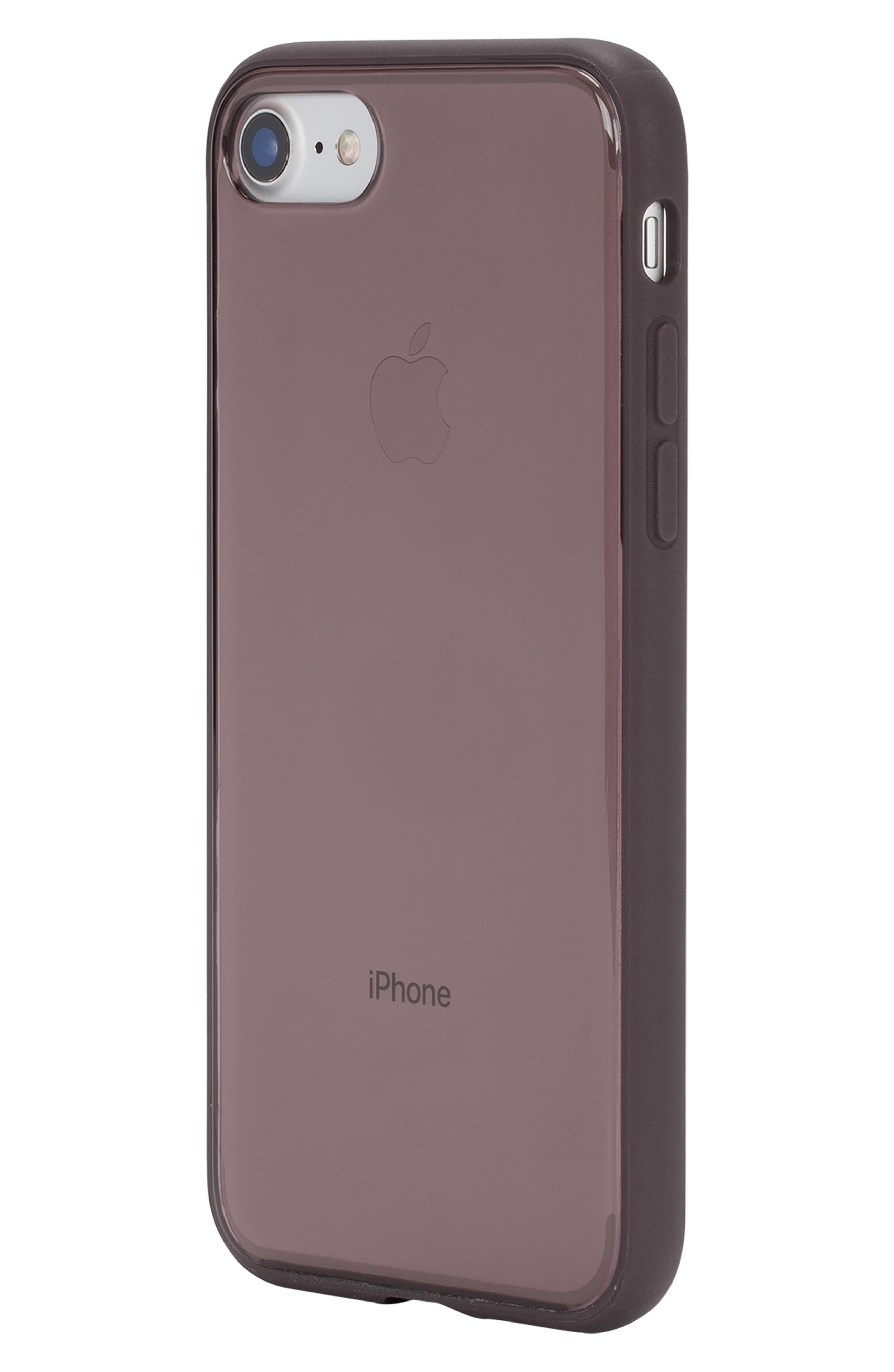 Pop iPhone 7/8 Case,                             Alternate thumbnail 2, color,                             Deep Taupe