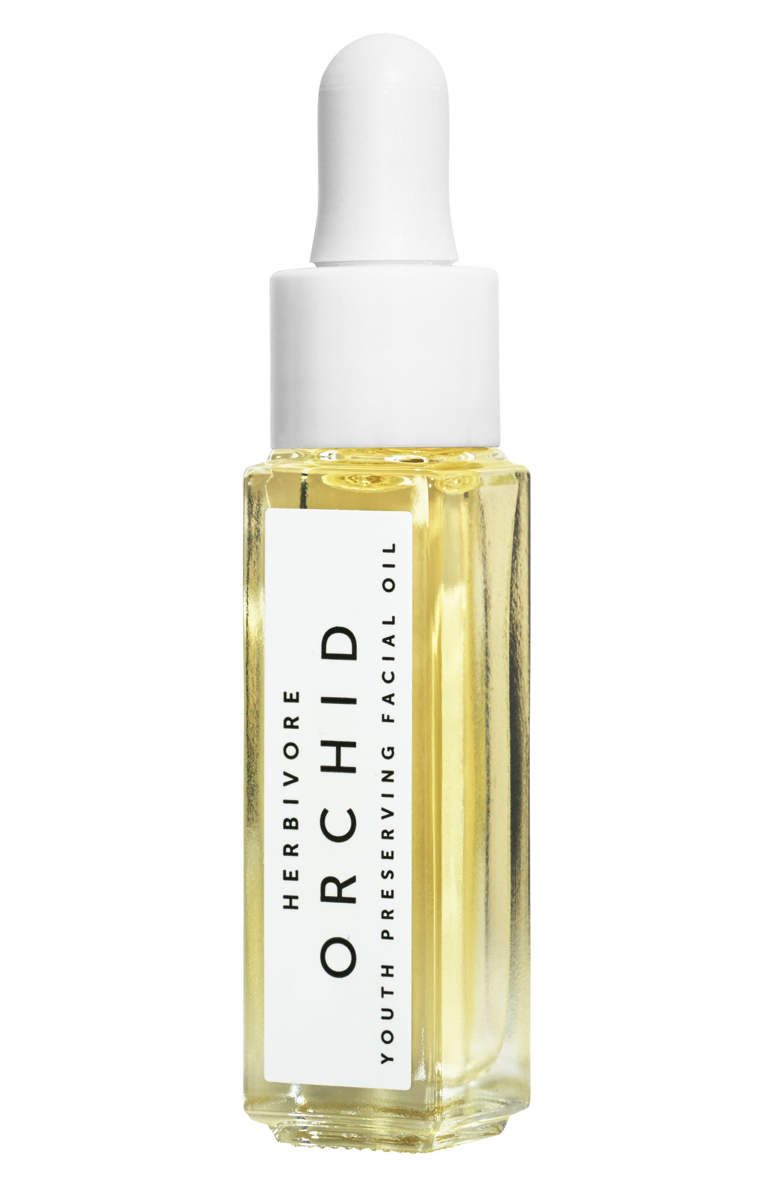 Orchid Mini Facial Oil,                             Main thumbnail 1, color,                             No Color
