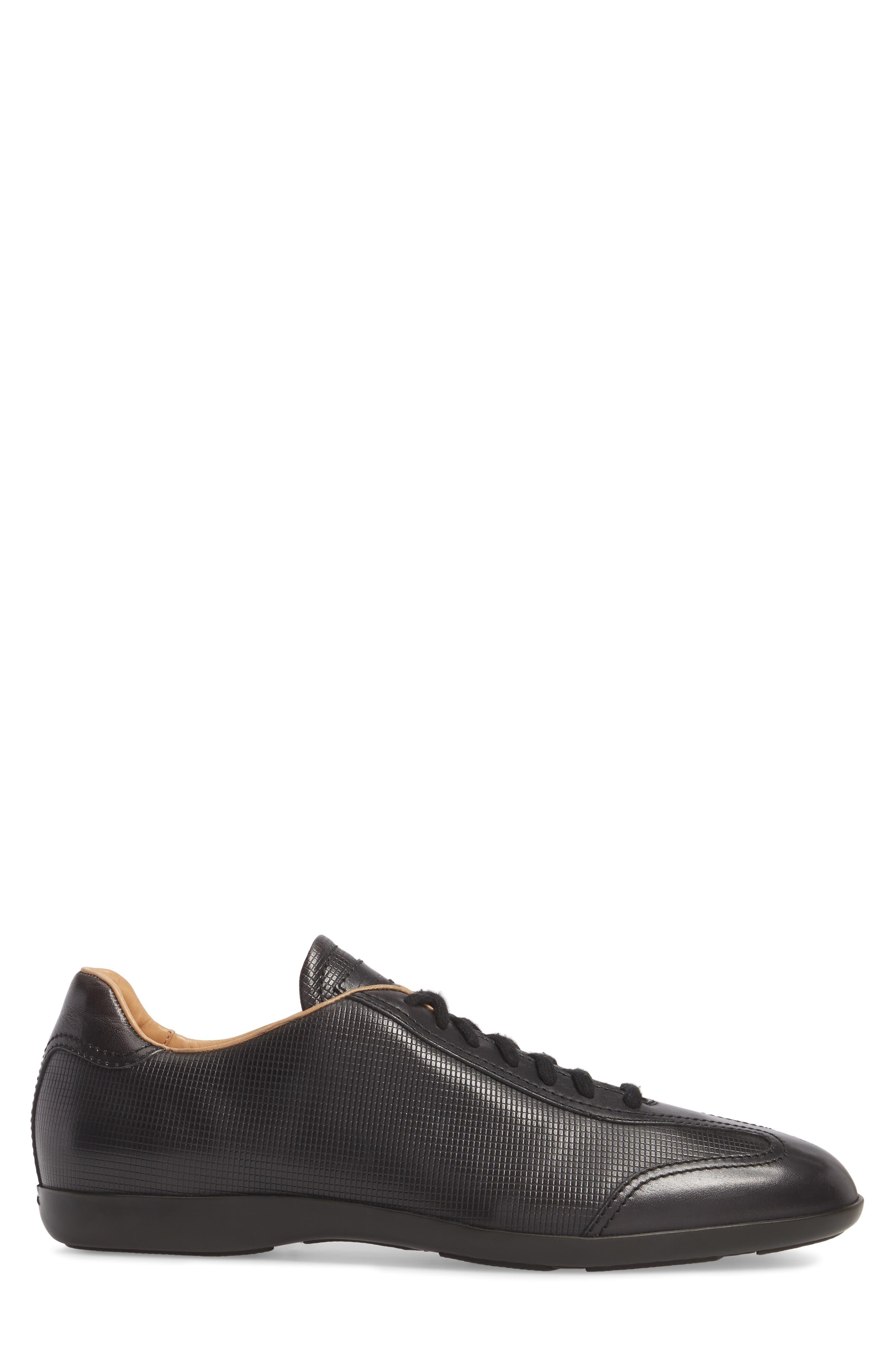 'Cortez' Sneaker,                             Alternate thumbnail 3, color,                             Brown Leather