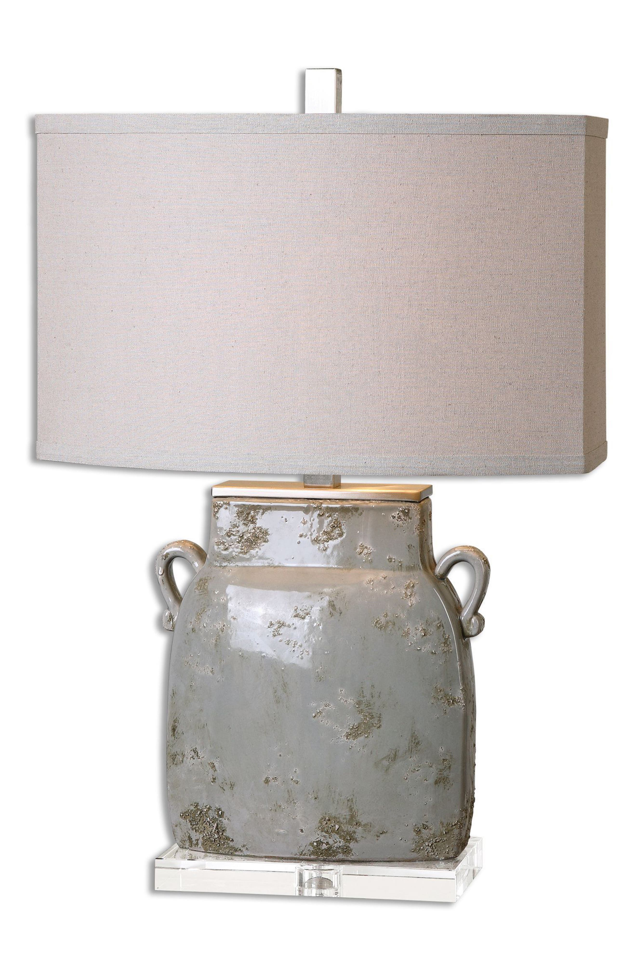 Melizzano Table Lamp,                             Main thumbnail 1, color,                             Ivory