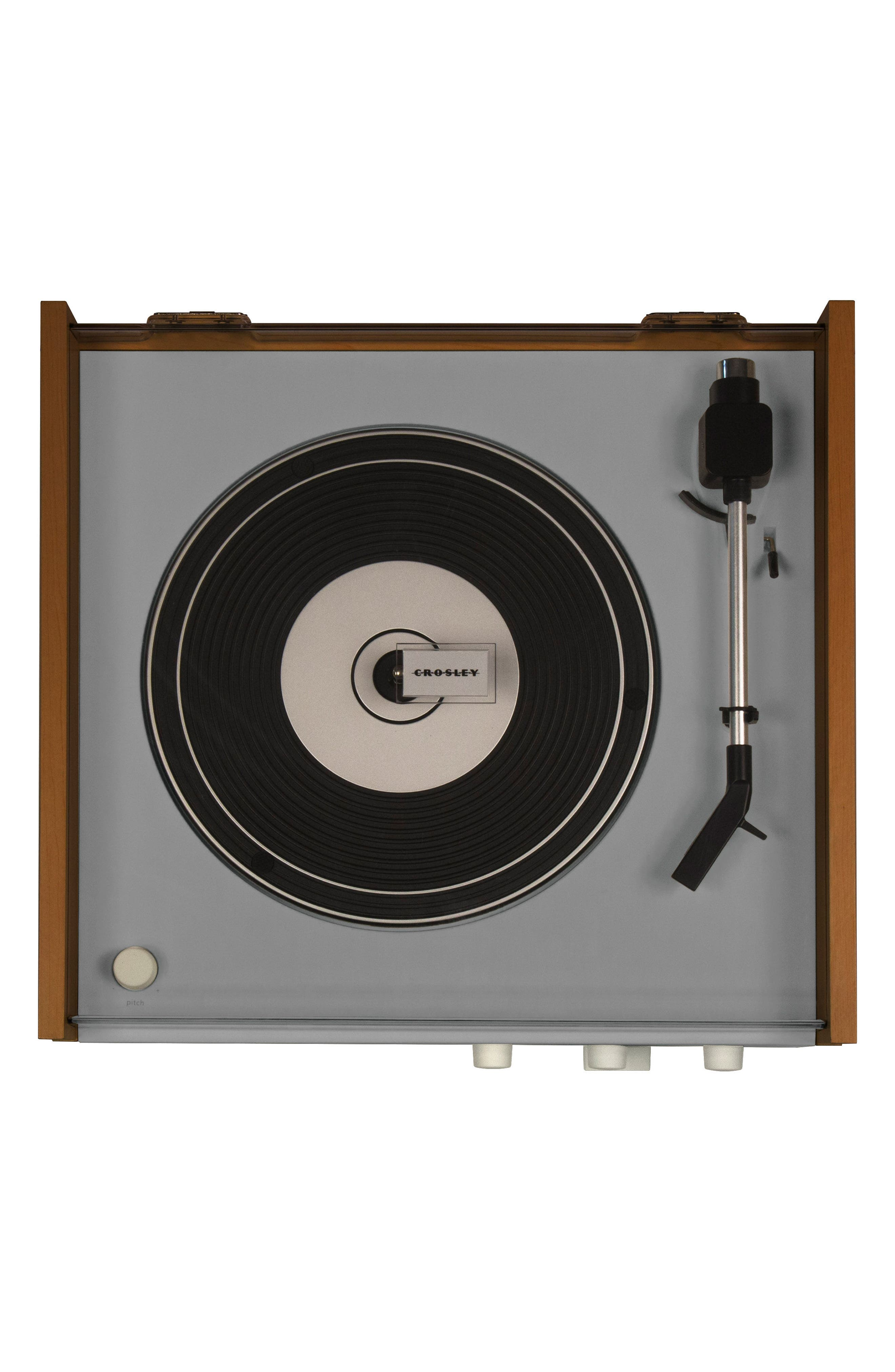 Otto 4-in-1 Turntable,                             Alternate thumbnail 2, color,                             Grey