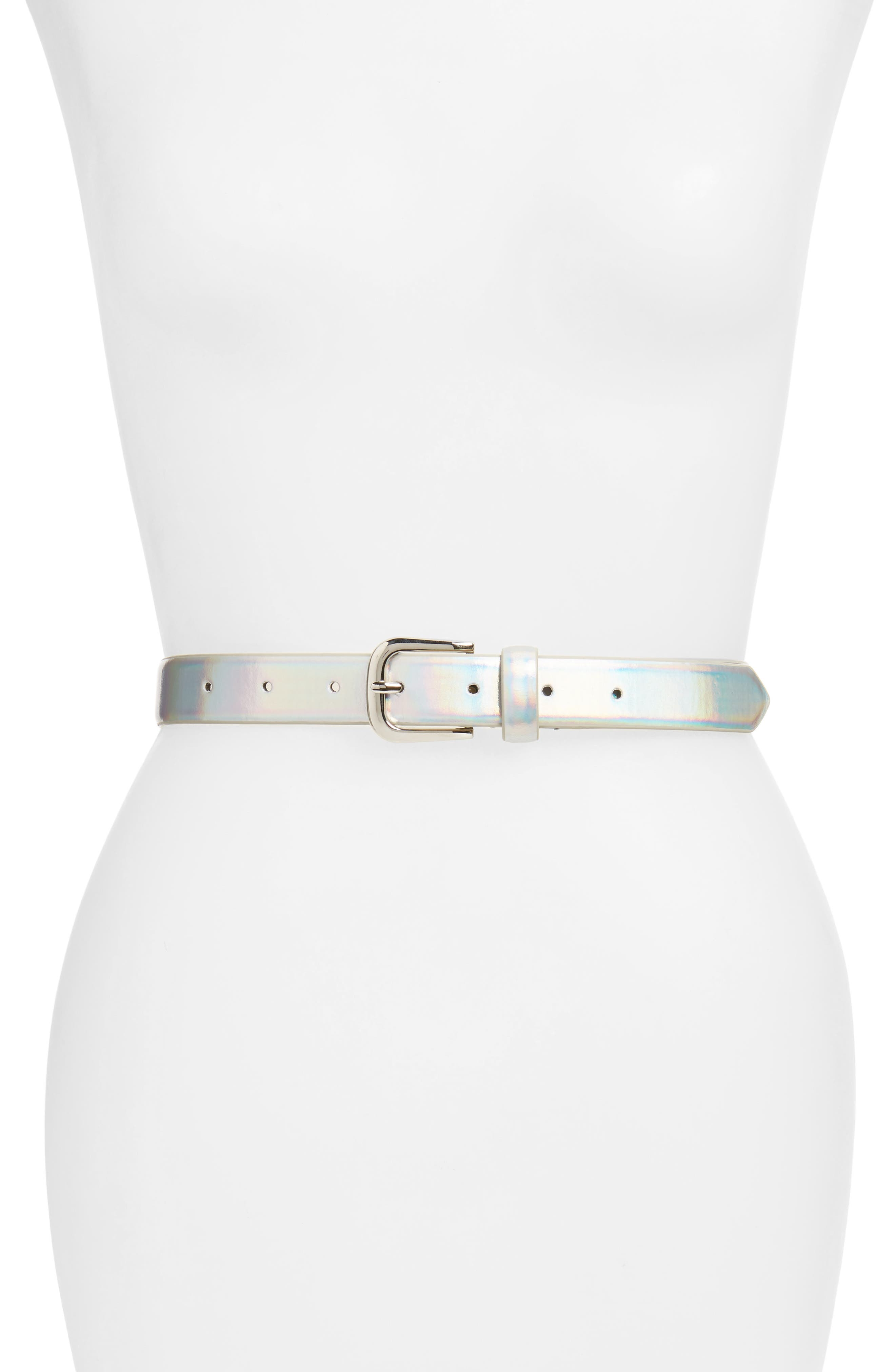 Steve Madden Iridescent Belt